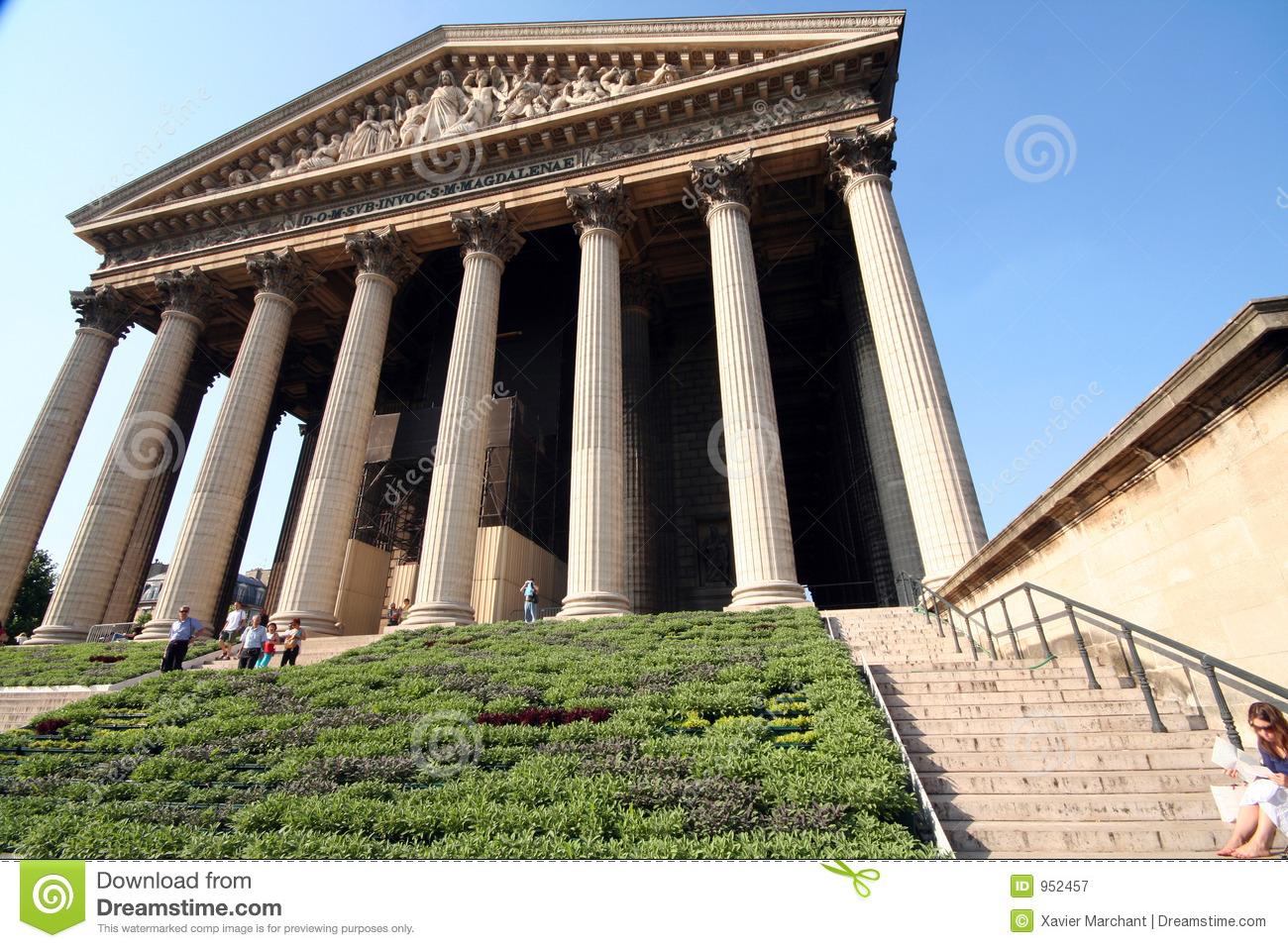 La madeleine monument royalty free stock photography image 952457 - Monument la madeleine ...