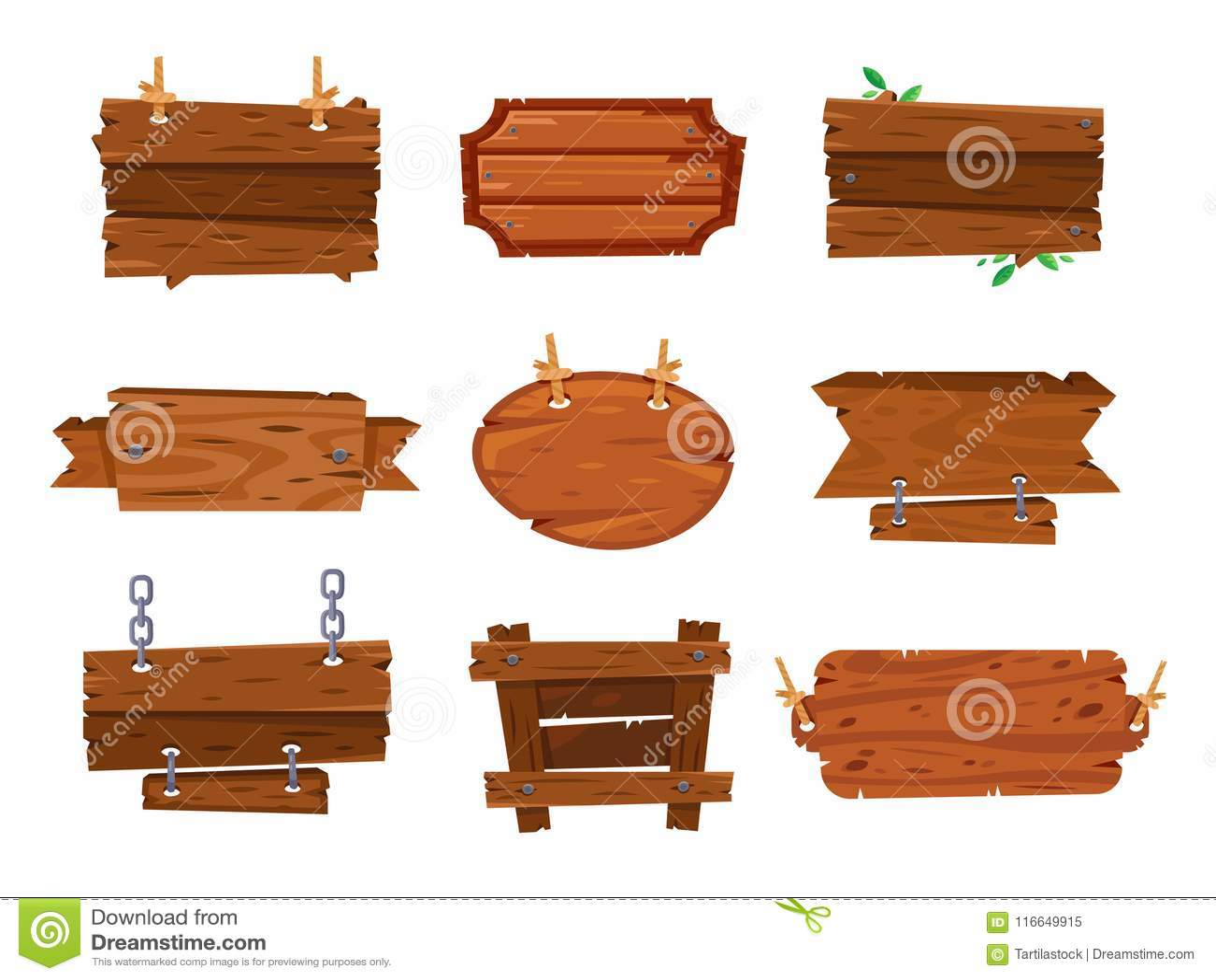 La madera de la historieta sube a muestras y a banderas de madera del marrón Enmadere el tablón de la placa, marcos aislados mues