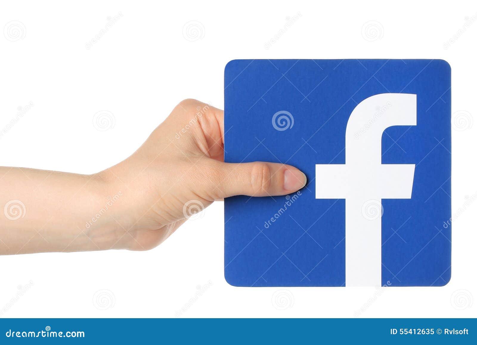 logo facebook fond blanc