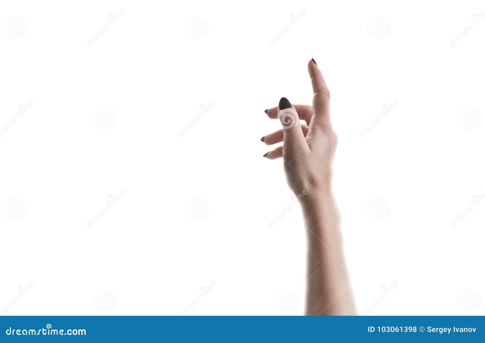 La main s étend vers le haut