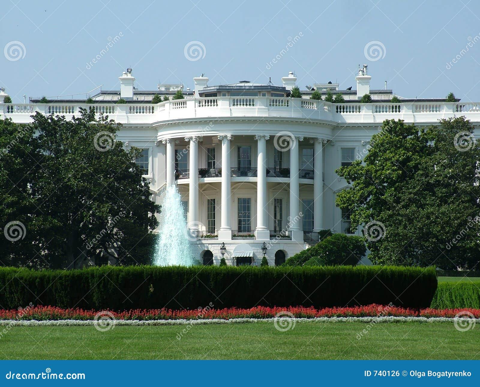 La Maison Blanche américaine
