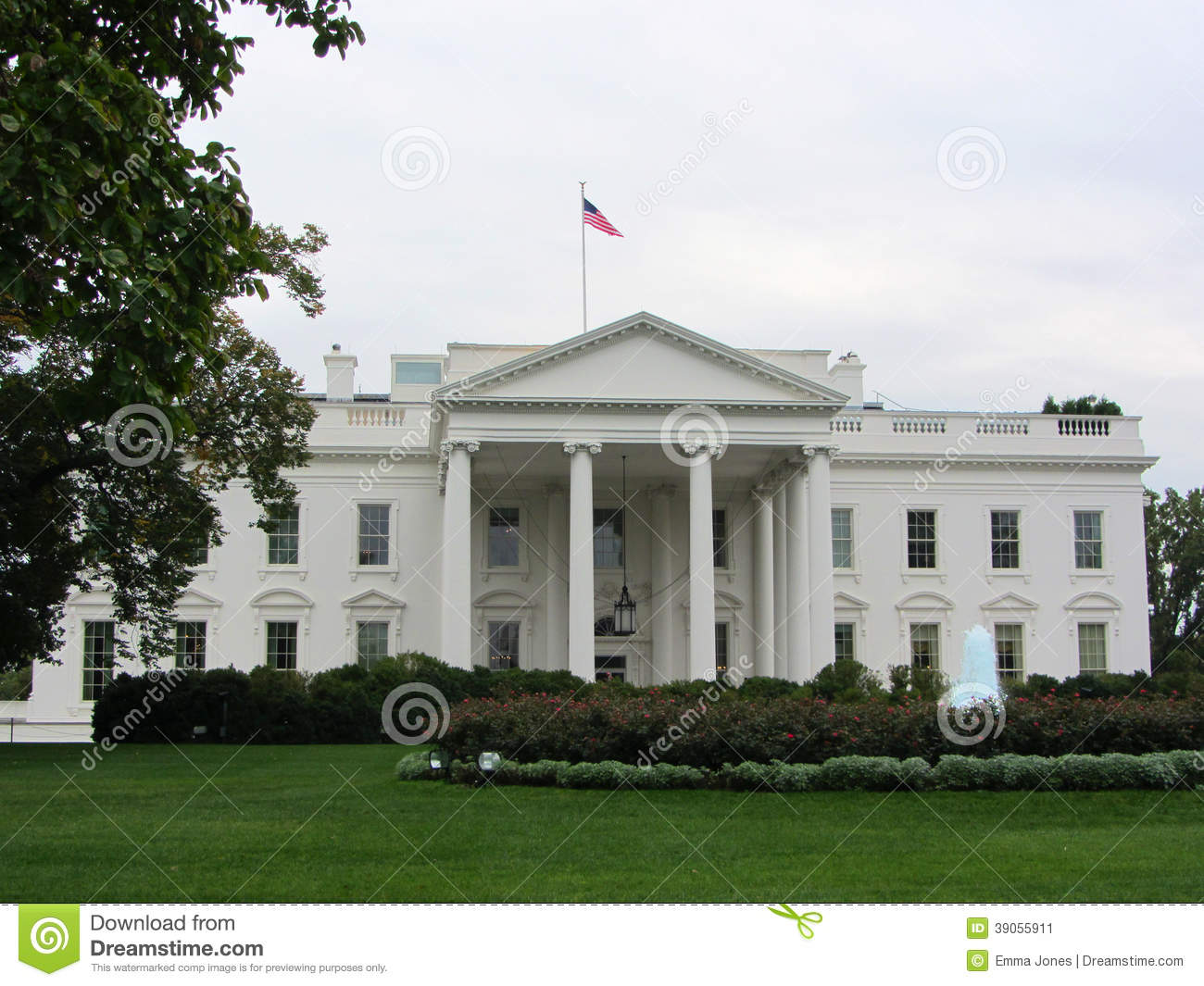 La maison blanche washington dc etats unis