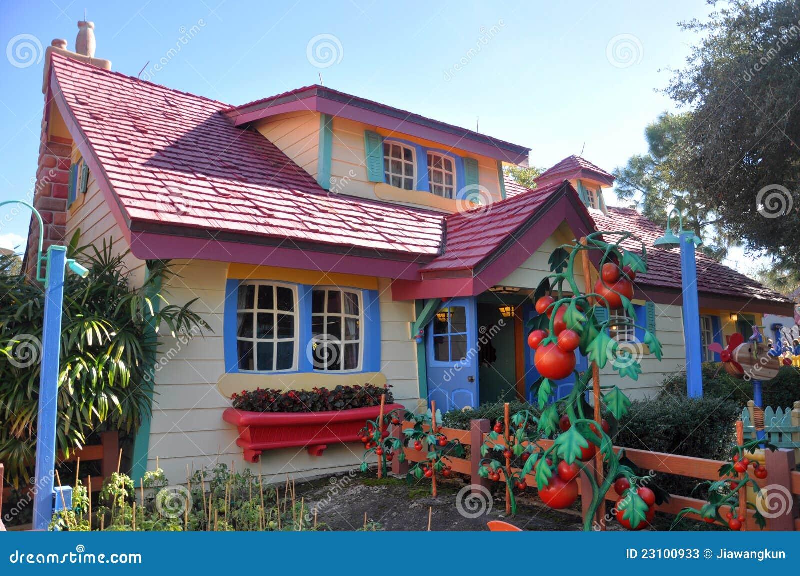 la maison de campagne de mickey monde orlando de disney