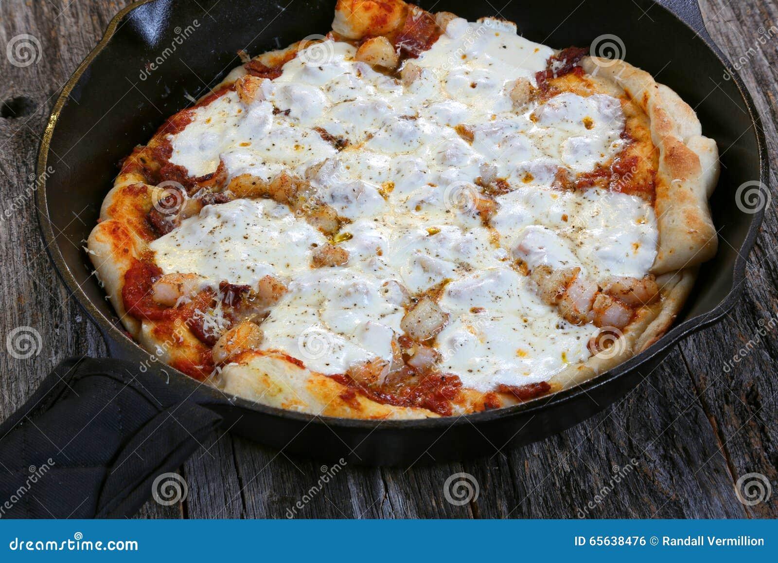 La maison a effectué la pizza