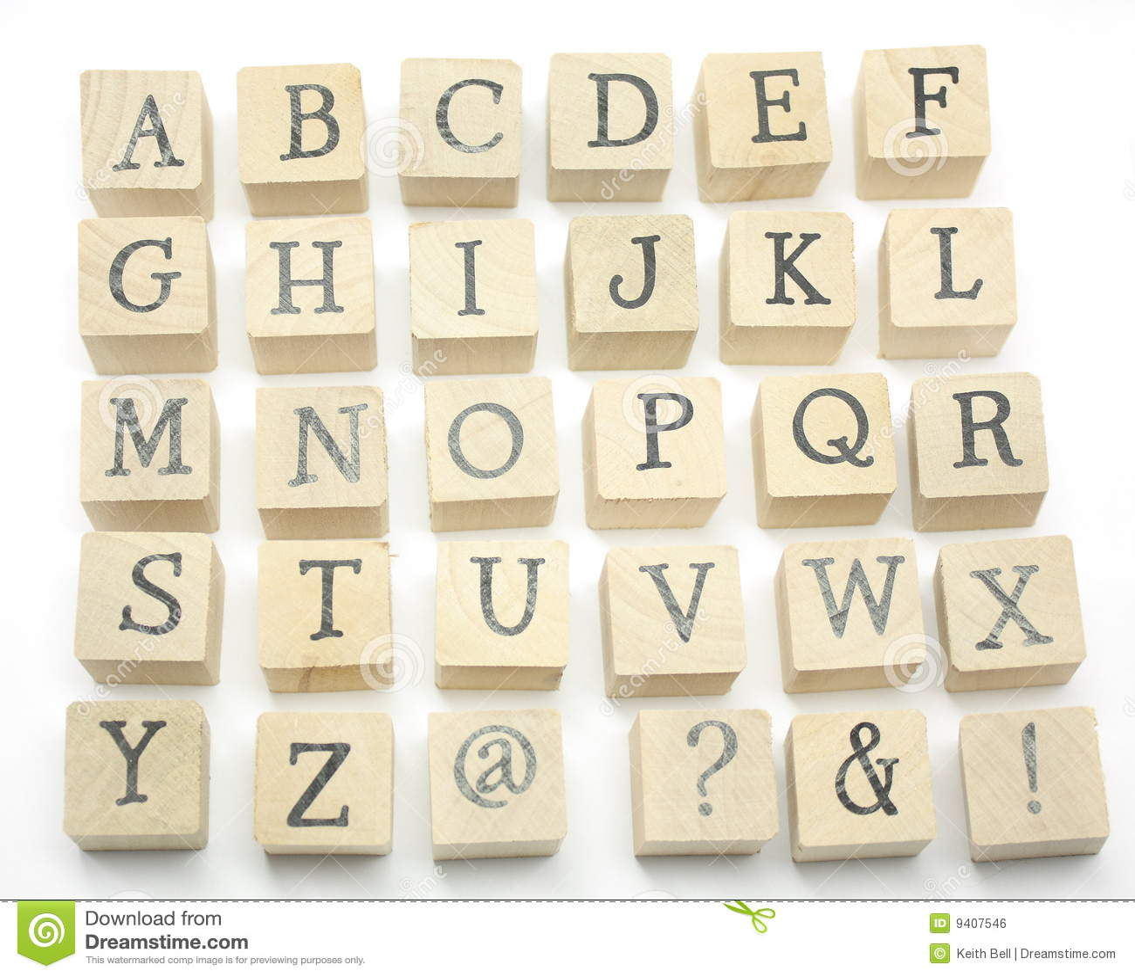 La maison effectuée bloque l alphabet