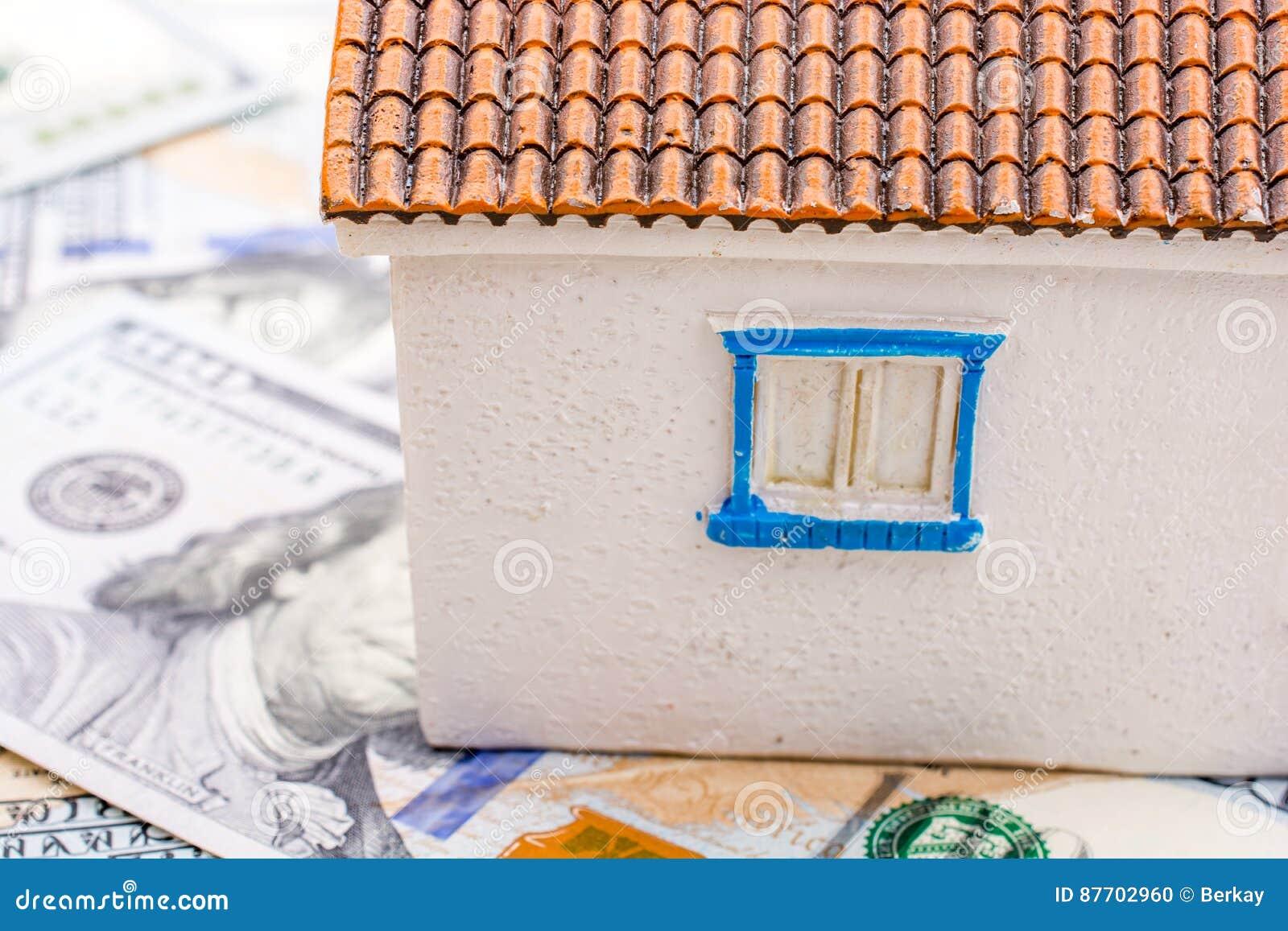 La maison modèle est placée sur les billets de banque de dollar US