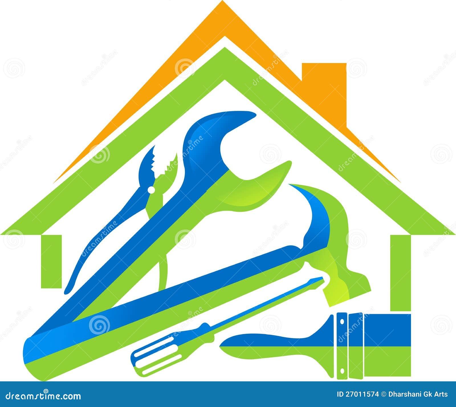 La maison usine le logo images stock image 27011574 for Logo avec une maison