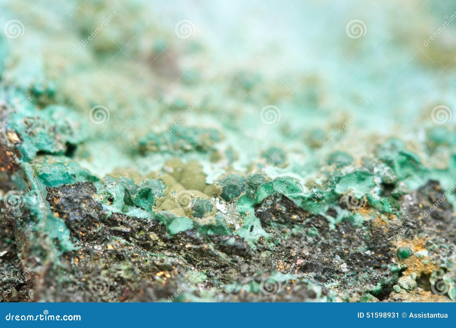 la malachite est un minerai de cuivre d 39 hydroxyde de carbonate image stock image du g ologique. Black Bedroom Furniture Sets. Home Design Ideas