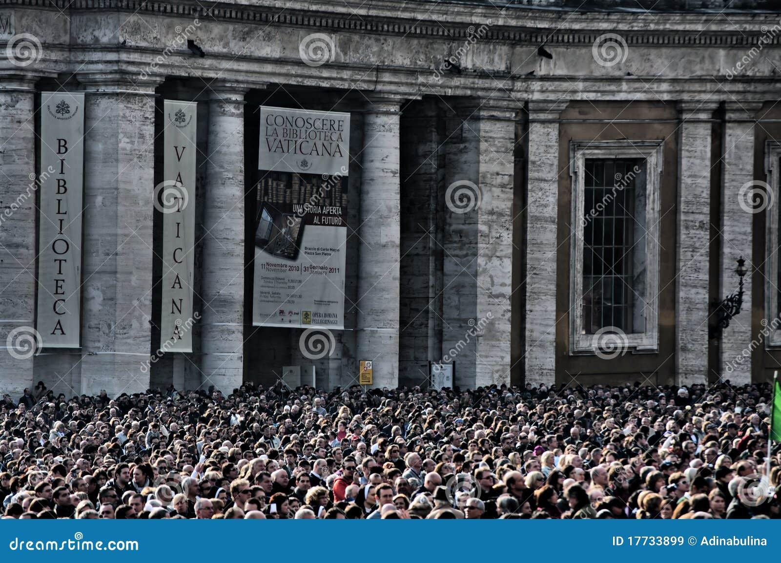 La massa di Vatican