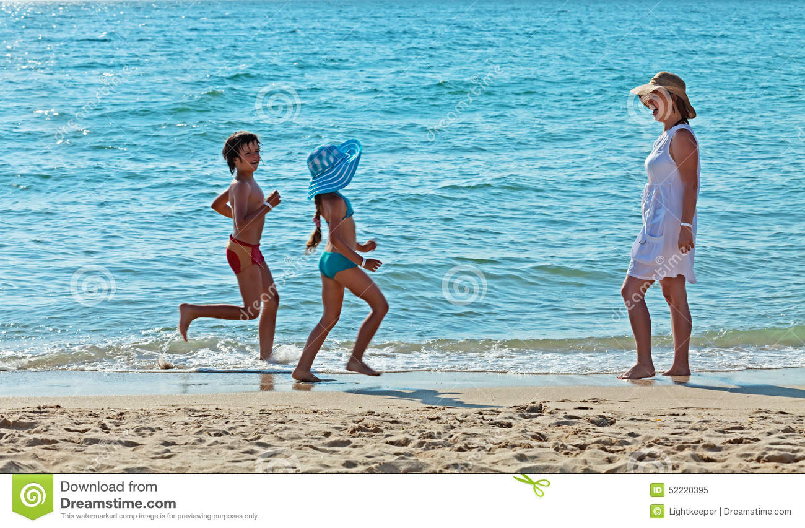 La mattina funziona dall esercitazione marina per il divertimento