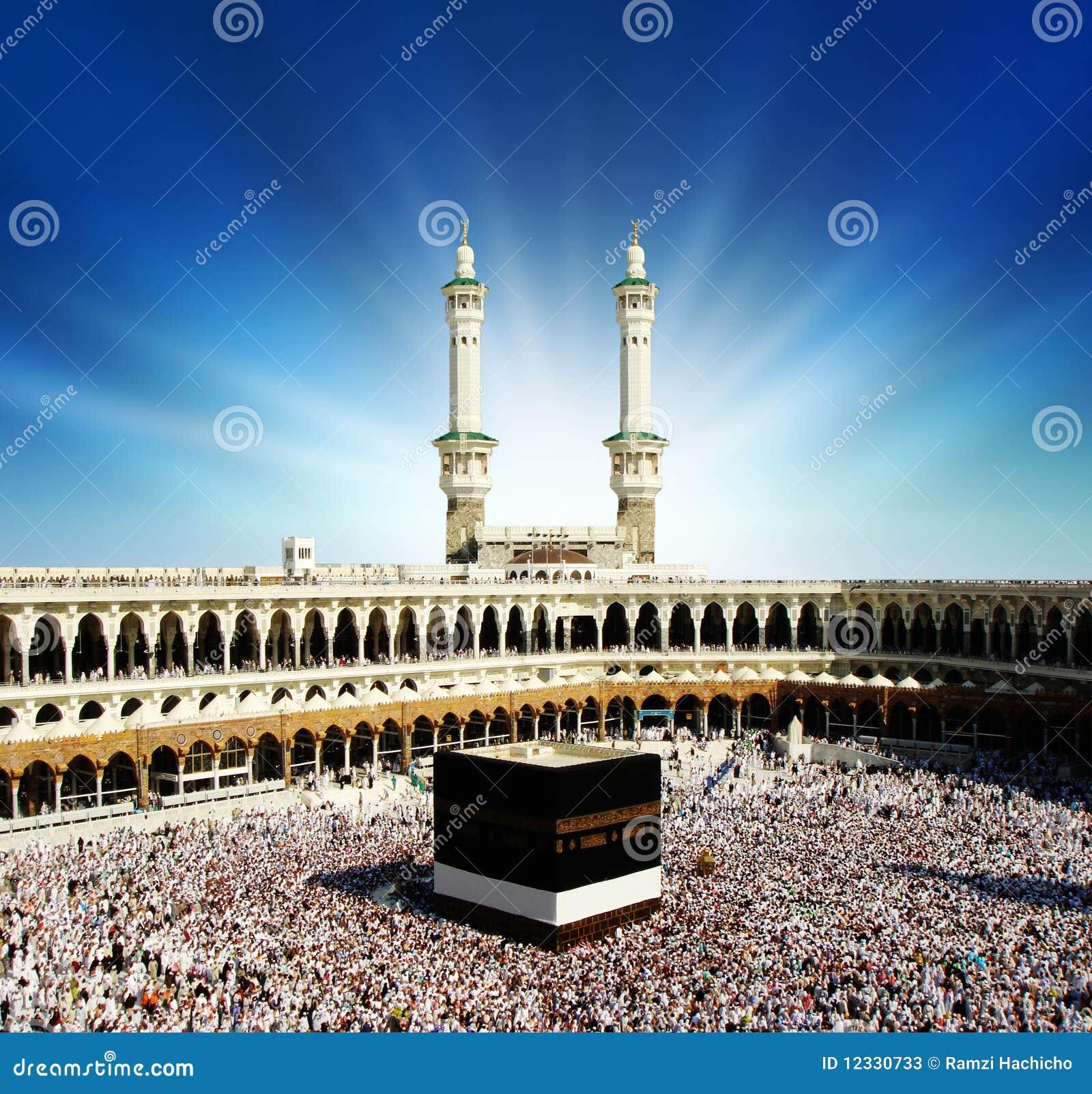 La Meca la Arabia Saudita de Kaaba.