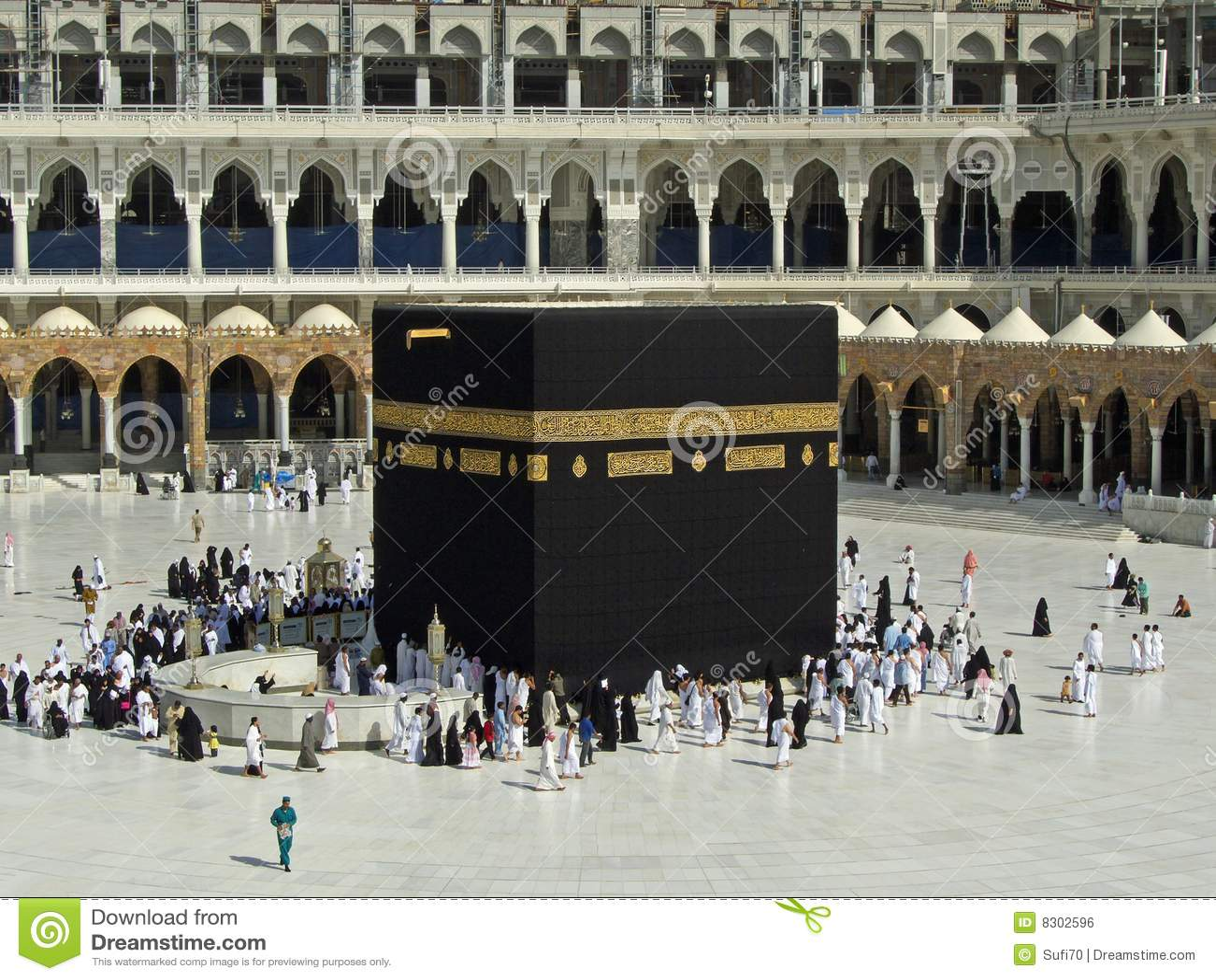 La mecque de kaaba photo ditorial image 8302596 for Interieur de la kaaba