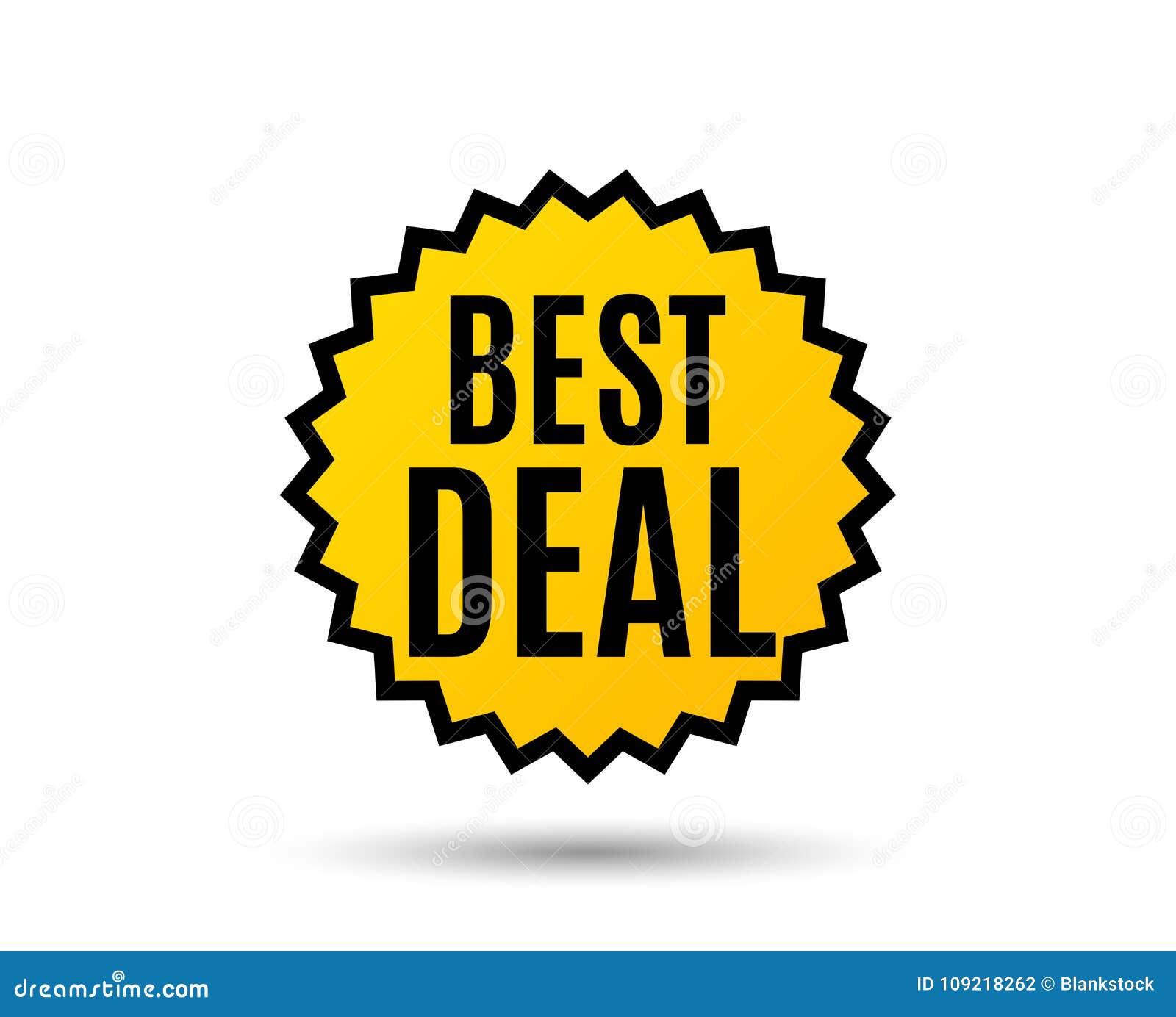 La meilleure affaire Signe de vente d offre spéciale