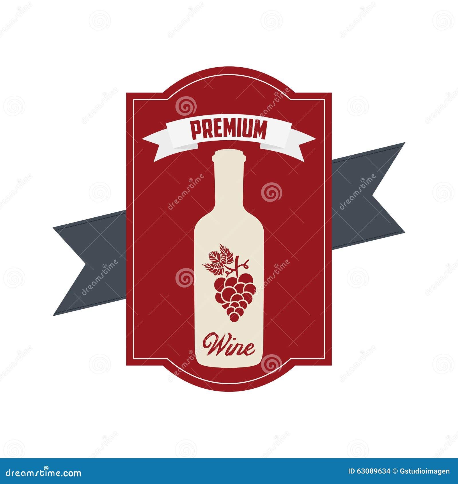 Download La Meilleure Conception De Vin Illustration de Vecteur - Illustration du qualité, dessin: 63089634