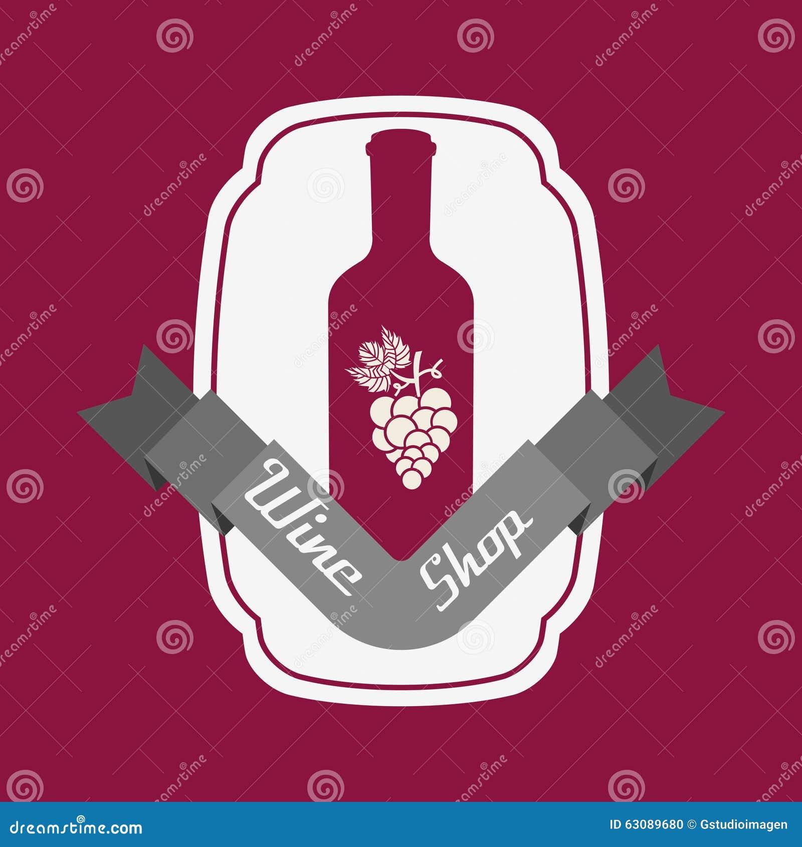 Download La Meilleure Conception De Vin Illustration de Vecteur - Illustration du graphisme, trame: 63089680