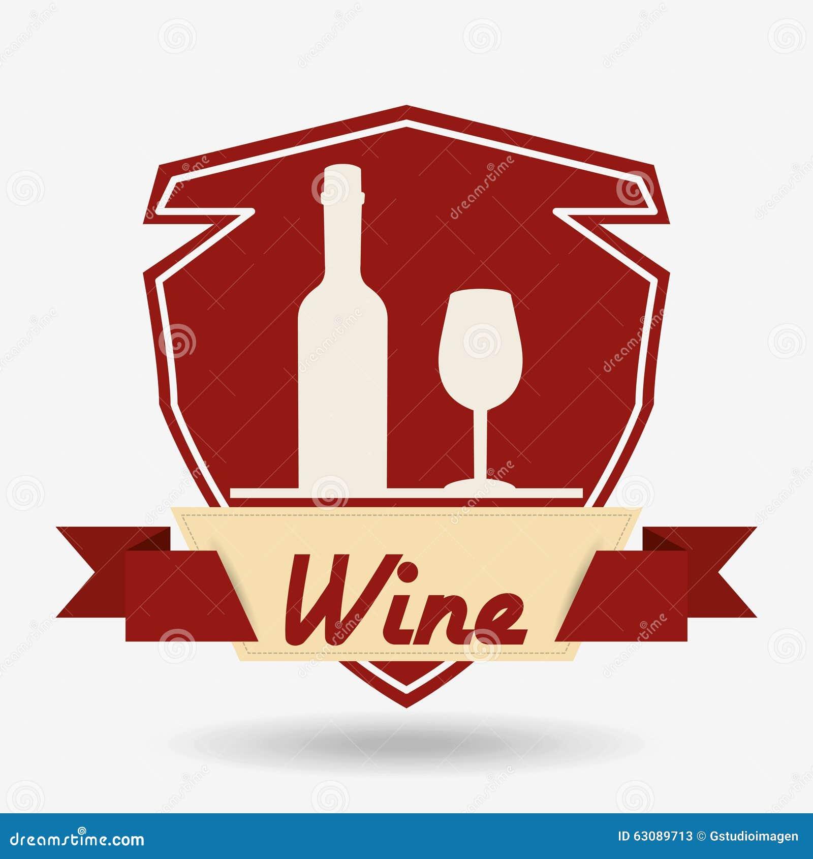 Download La Meilleure Conception De Vin Illustration de Vecteur - Illustration du illustration, bande: 63089713