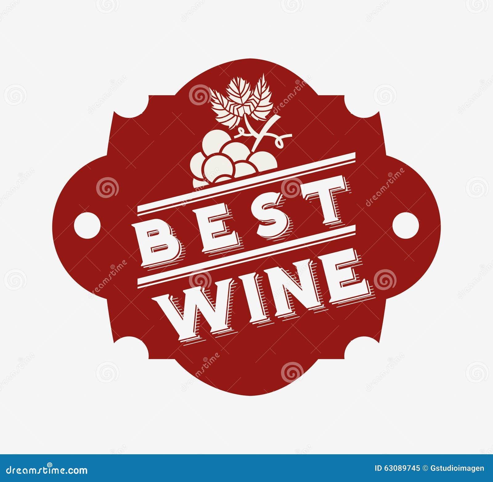 Download La Meilleure Conception De Vin Illustration de Vecteur - Illustration du descripteur, mieux: 63089745