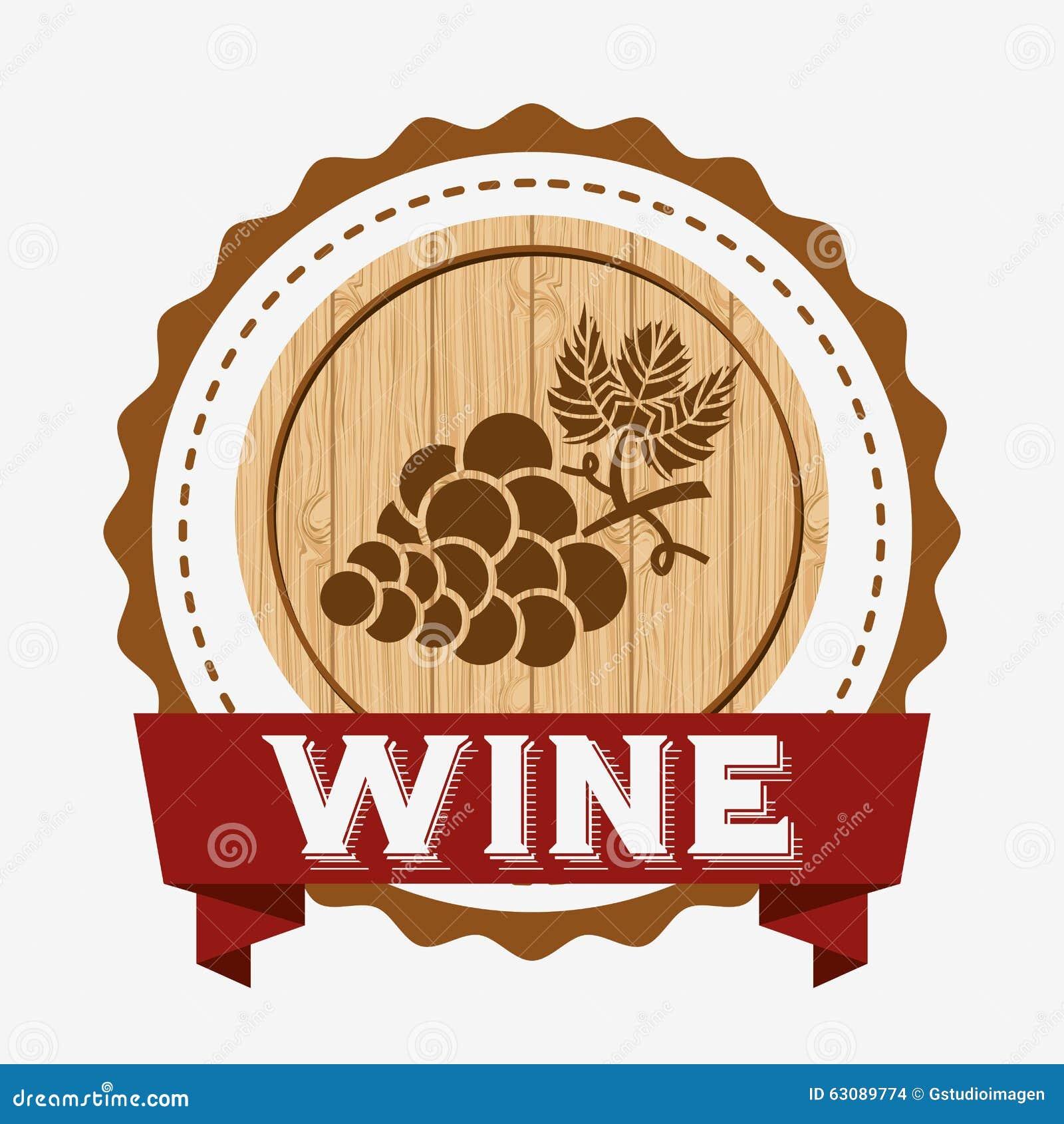 Download La Meilleure Conception De Vin Illustration de Vecteur - Illustration du mieux, décoratif: 63089774