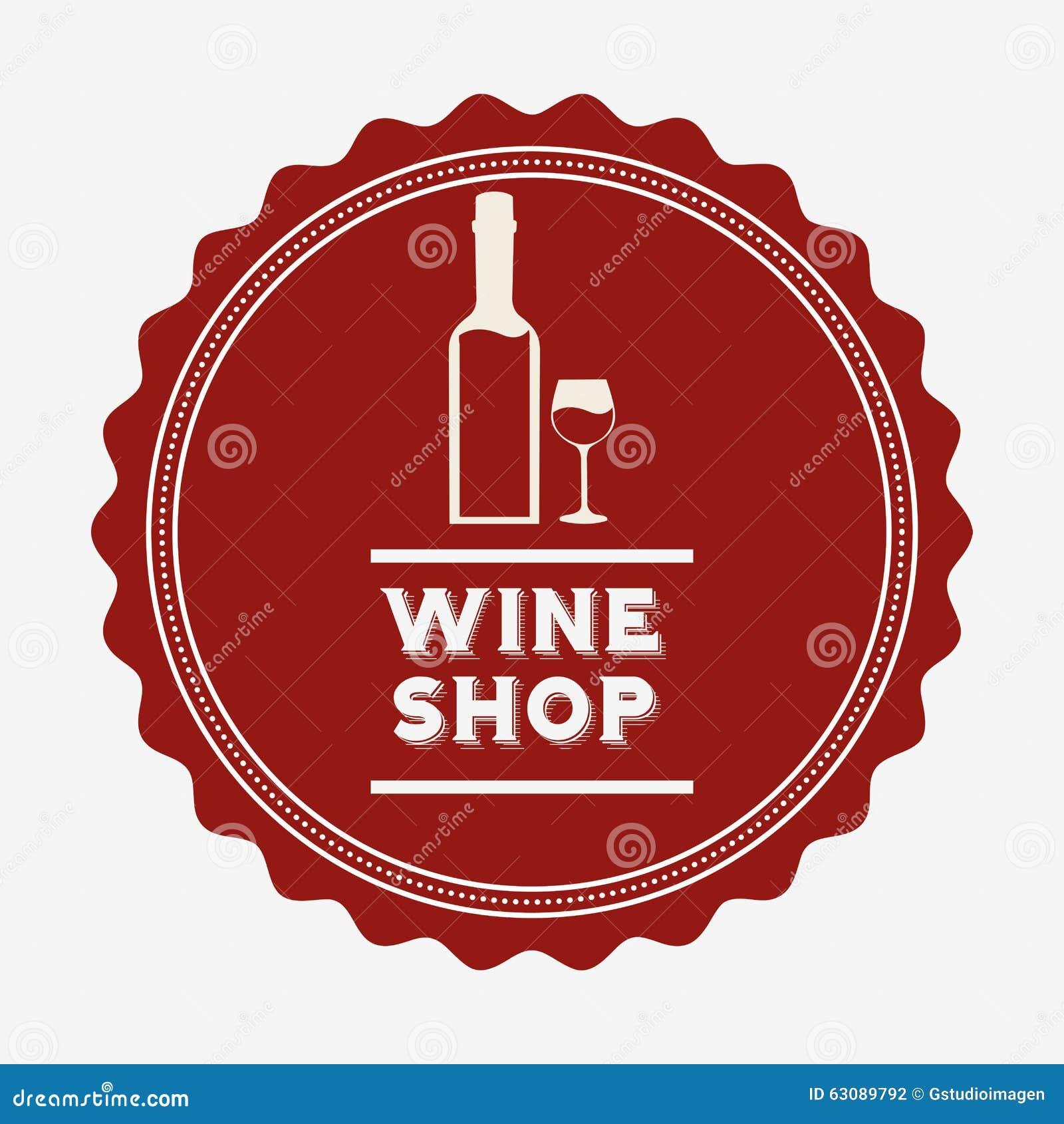 Download La Meilleure Conception De Vin Illustration de Vecteur - Illustration du sceau, élément: 63089792
