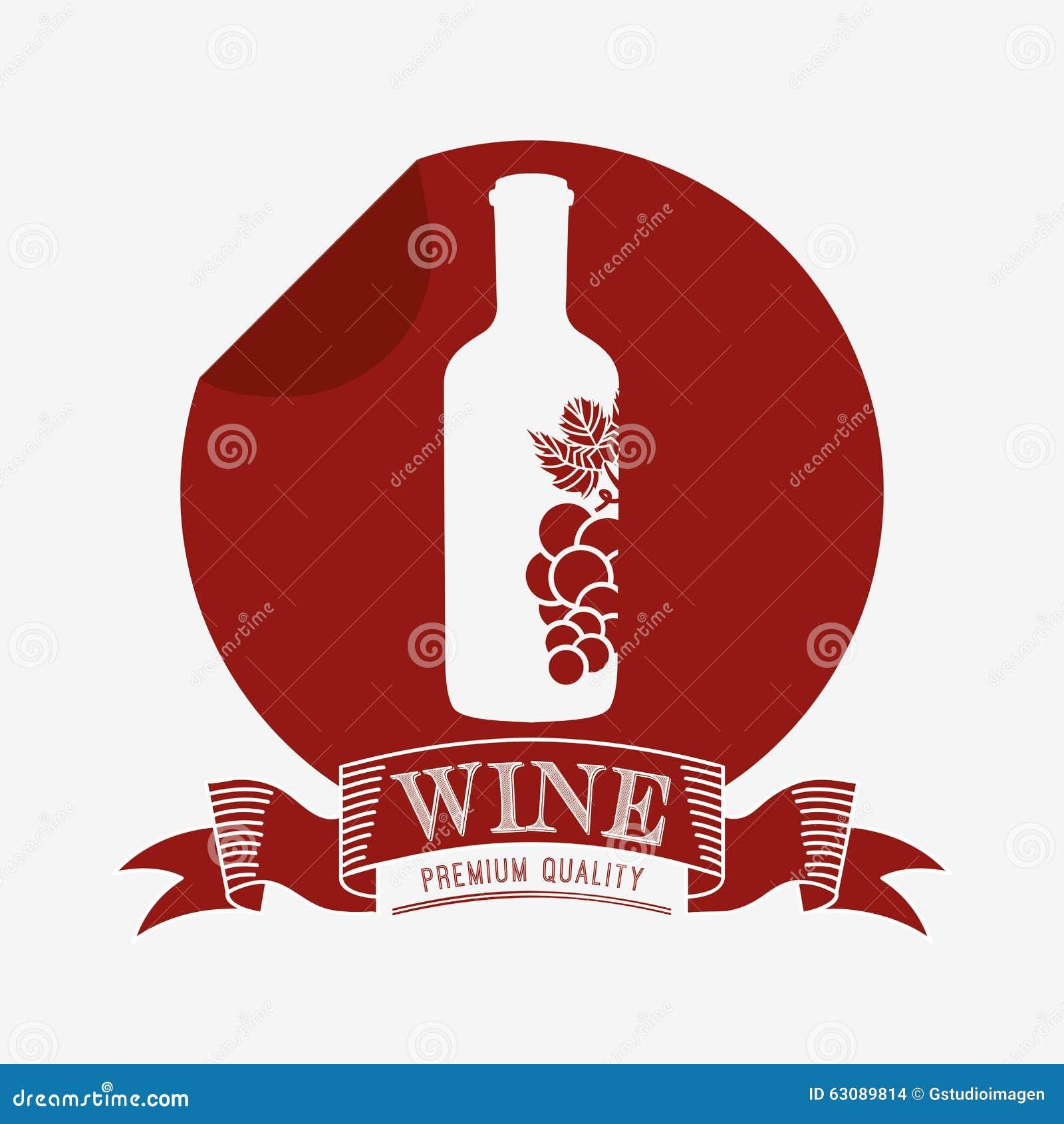 Download La Meilleure Conception De Vin Illustration de Vecteur - Illustration du trame, pâte: 63089814