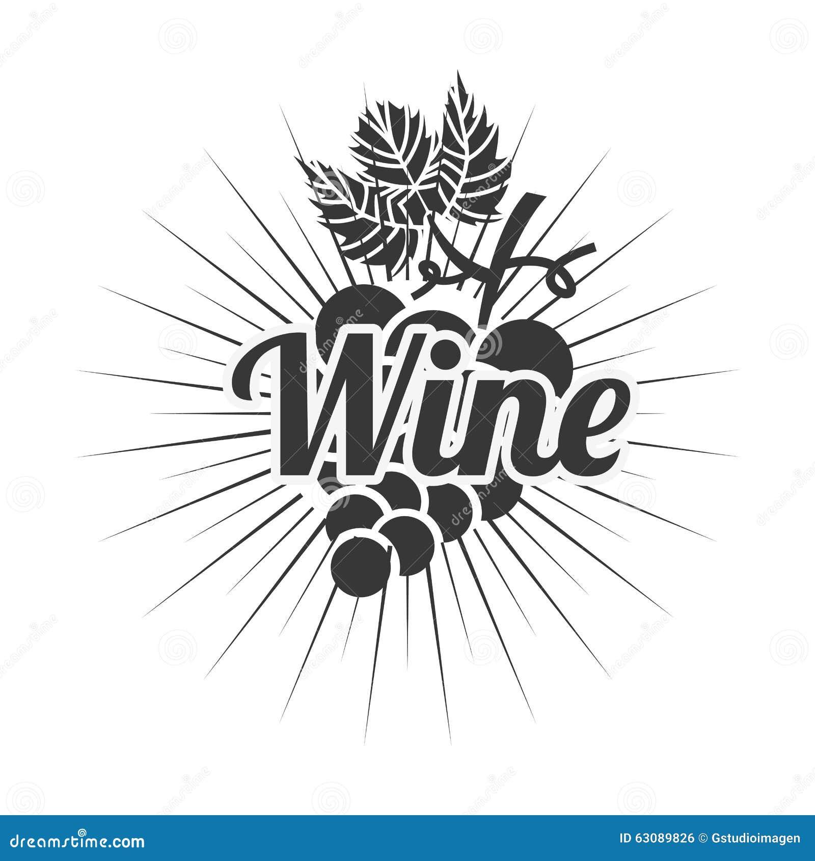 Download La Meilleure Conception De Vin Illustration de Vecteur - Illustration du descripteur, signe: 63089826