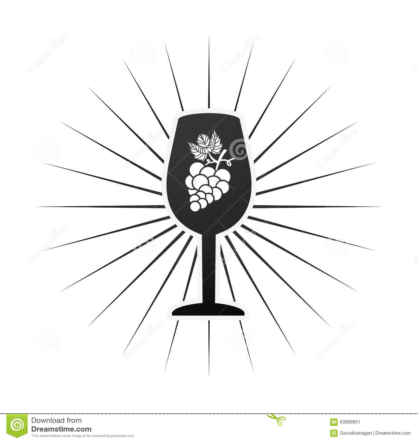Download La Meilleure Conception De Vin Illustration de Vecteur - Illustration du produit, alcool: 63089851