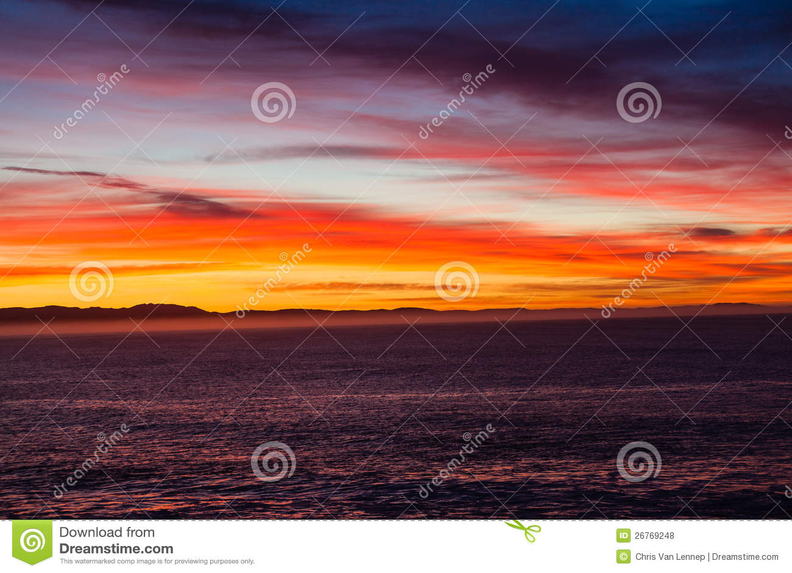 La mer de cordon opacifie l aube de couleurs
