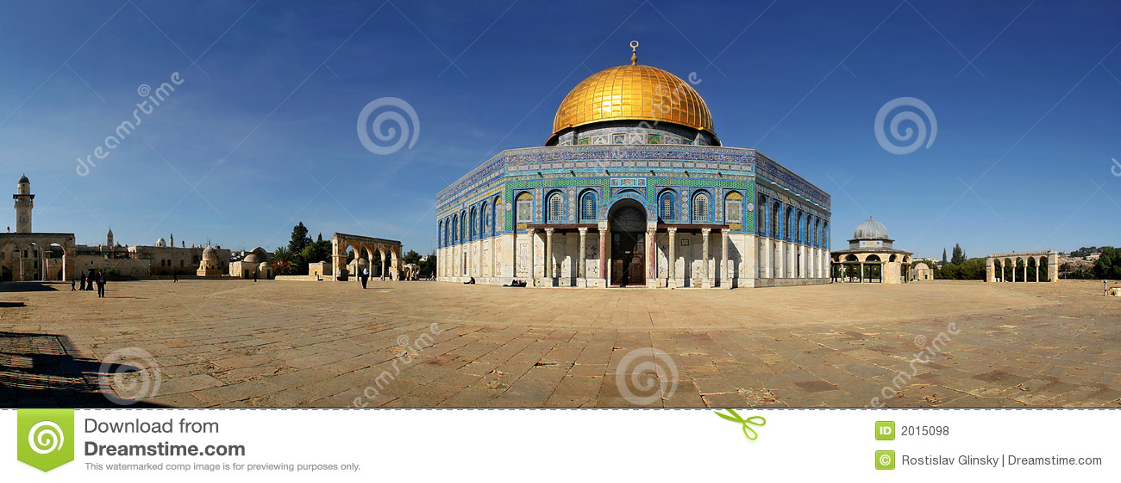 La mezquita.
