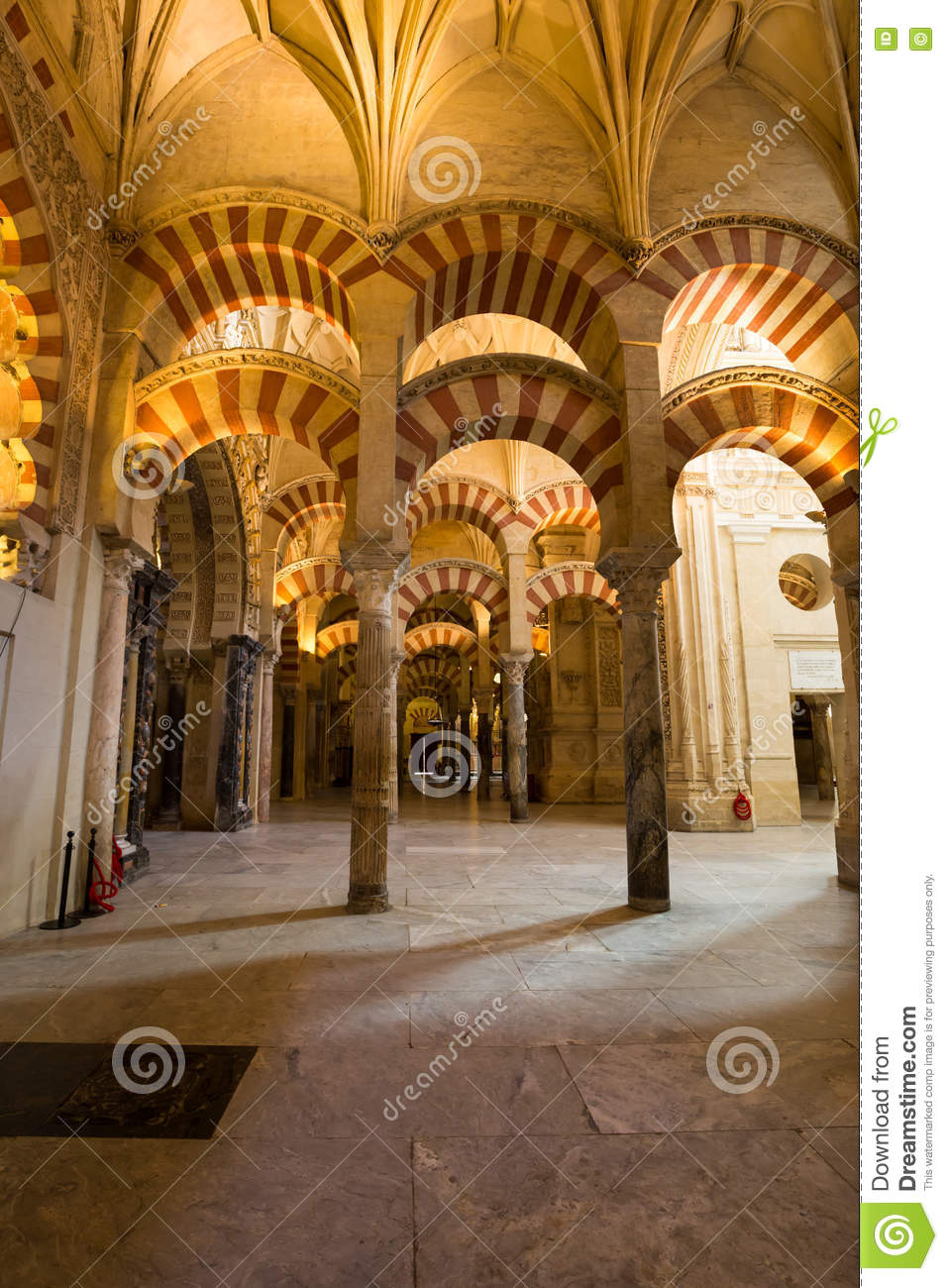 la mezquita cathedral in cordoba spain the cathedral was built stock photo image 71006937. Black Bedroom Furniture Sets. Home Design Ideas