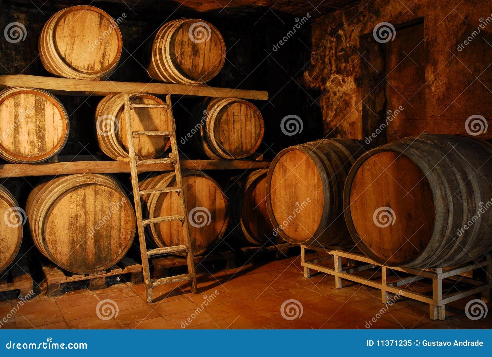 La mia stanza del vino.