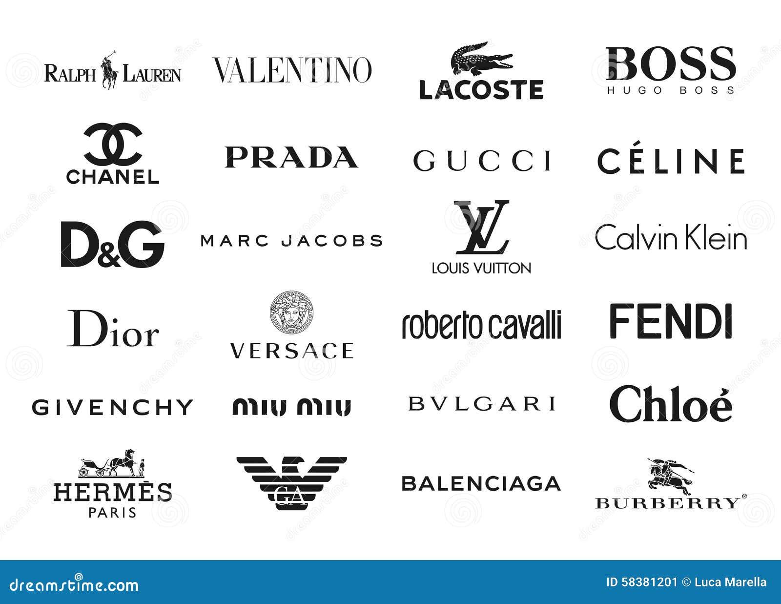 La mode stigmatise des logos