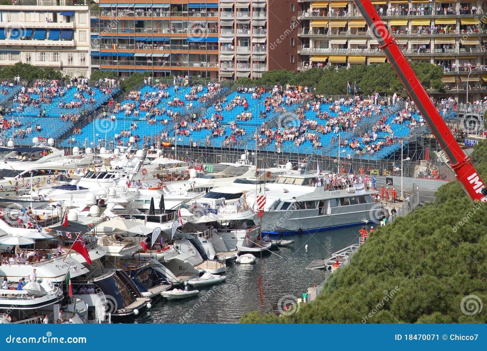 La Monaco durante il grande Prix 2009