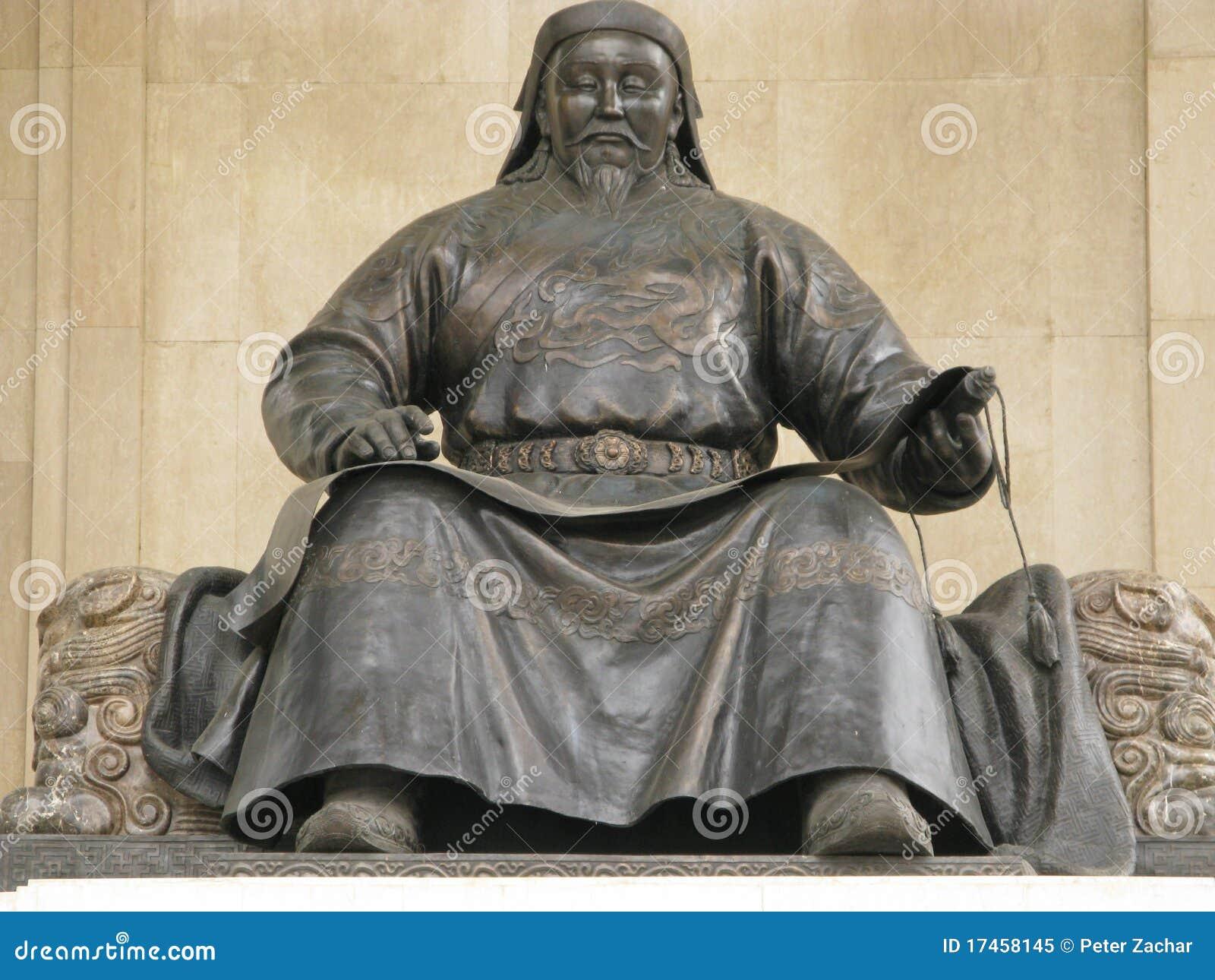 La Mongolie Le Genghis Khan Image Stock Image Du Gobi Séjour