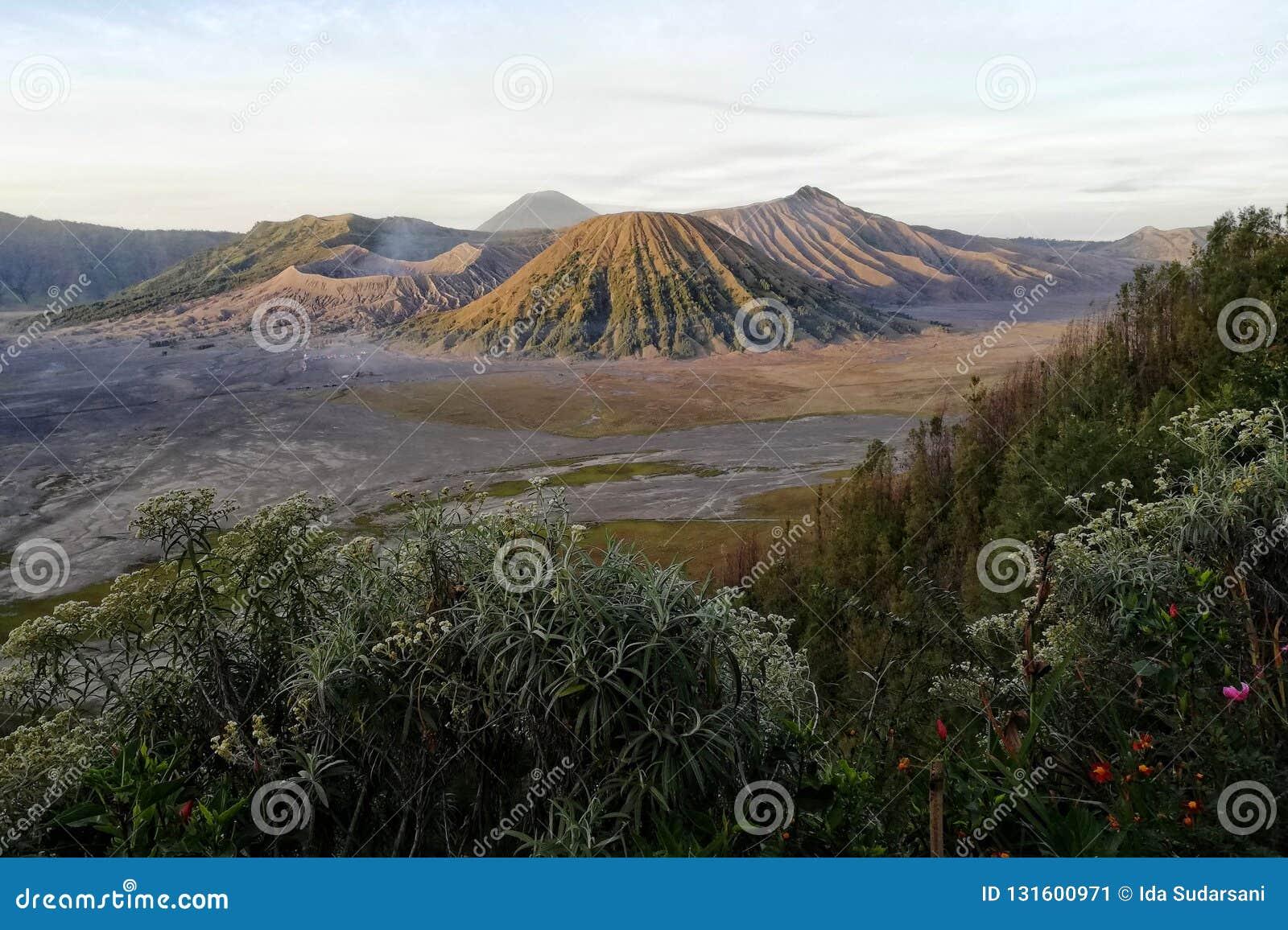 La montaña de Bromo