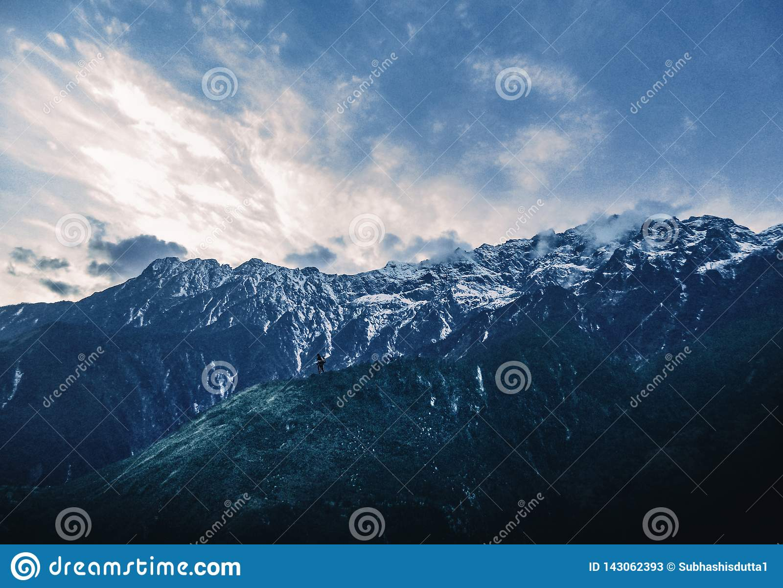 La montaña y el hombre