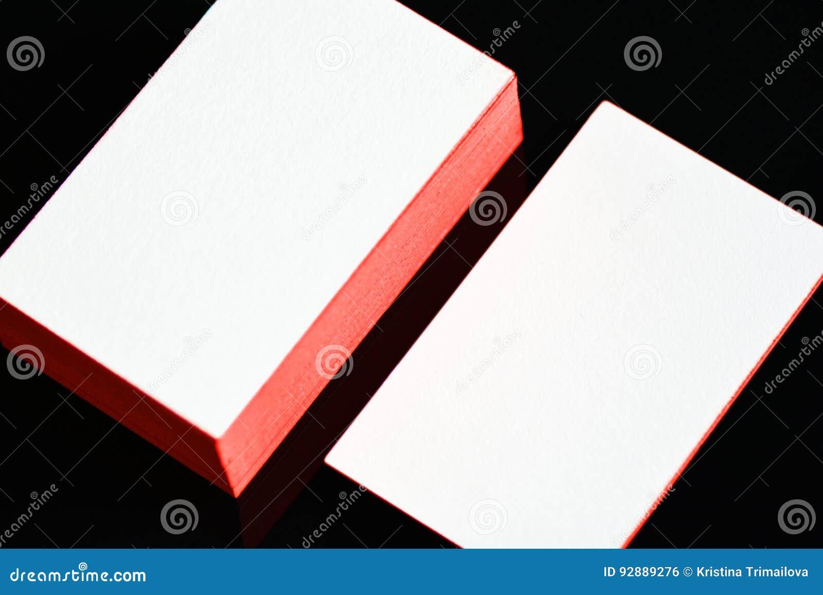 La Moquerie Blanche Paisse De Carte Visite Professionnelle Papier Coton Avec