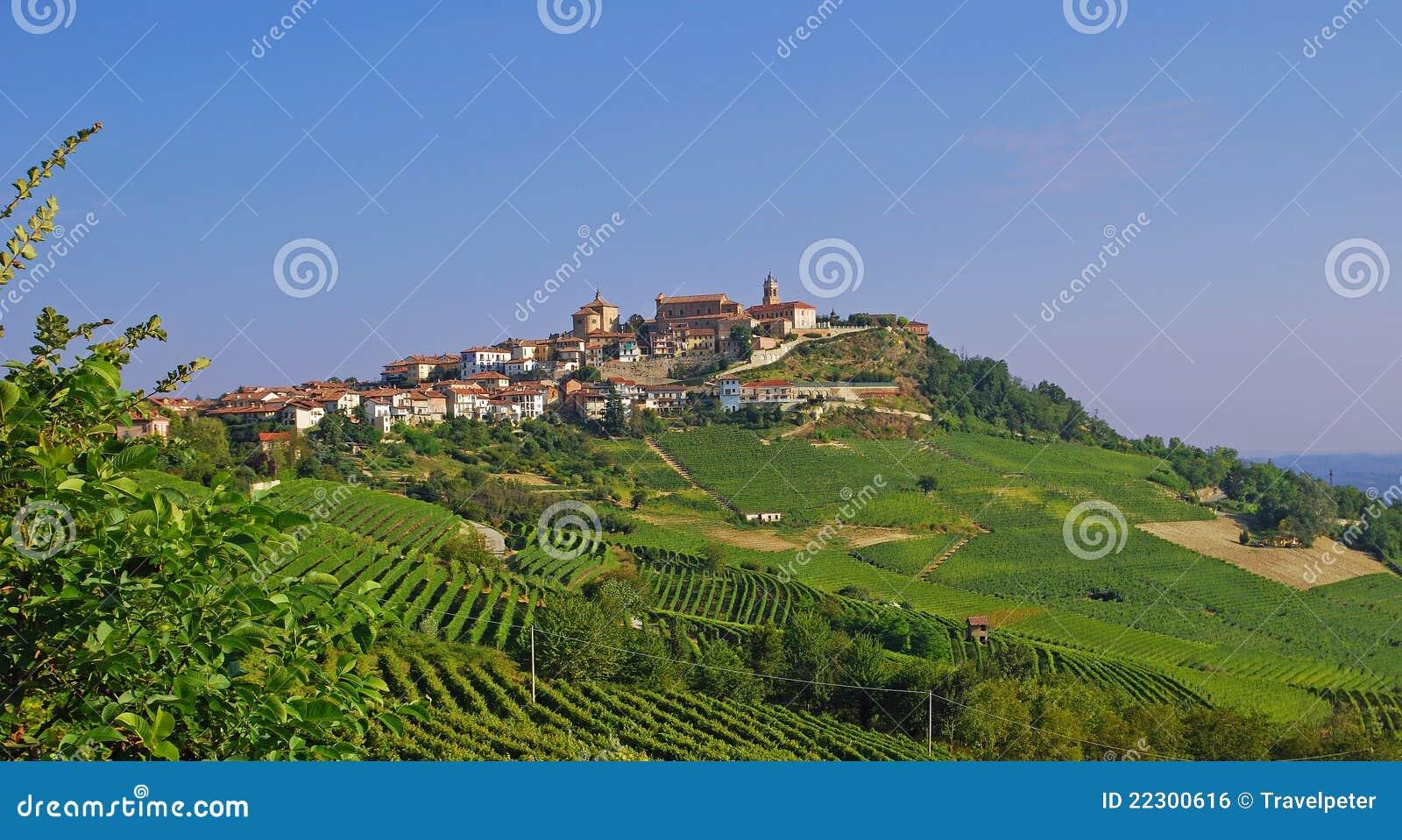 La Morra in Piedmont