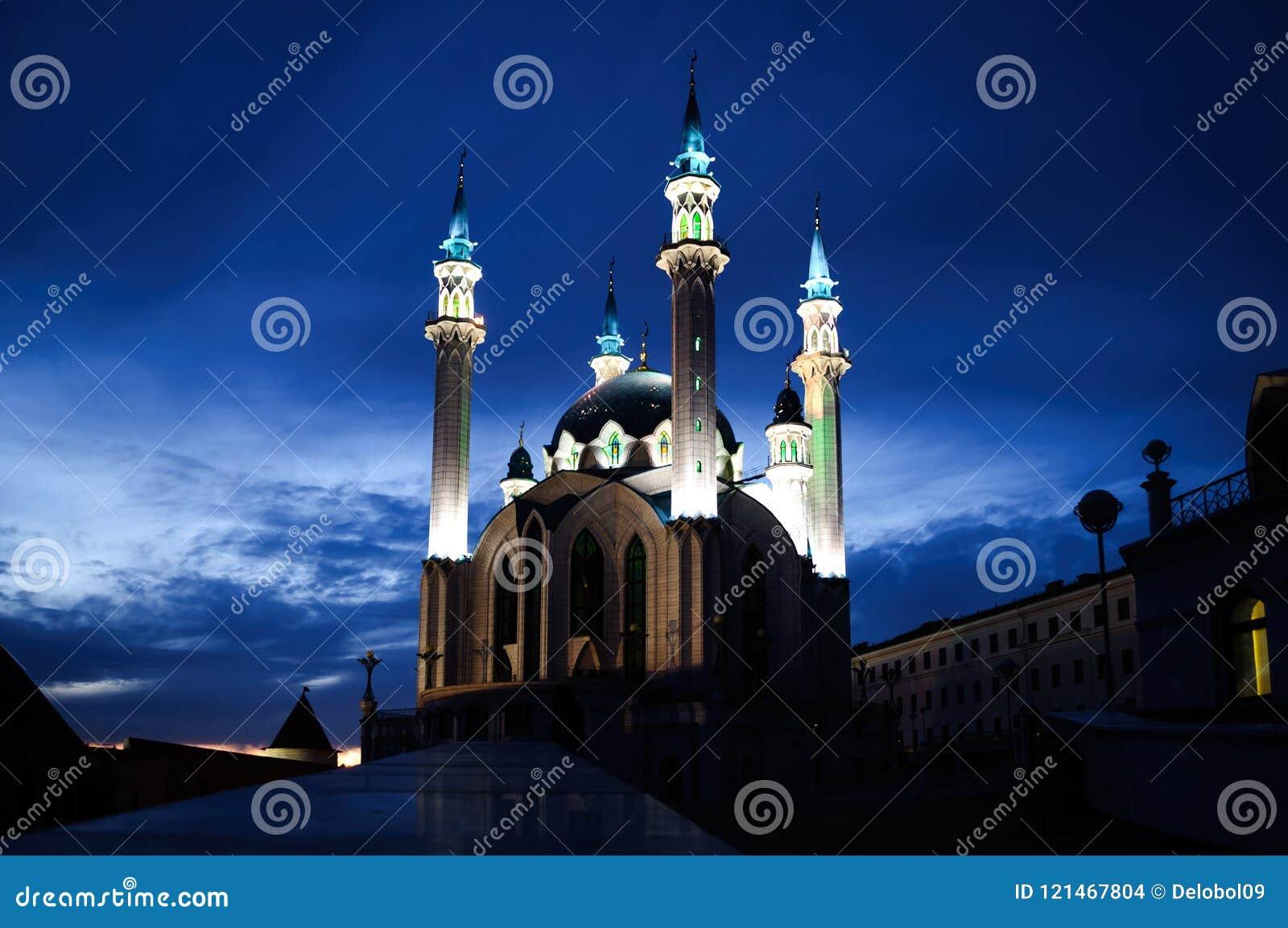 La moschea principale di Juma della cattedrale della Repubblica di Tatarstan Kul Sharif
