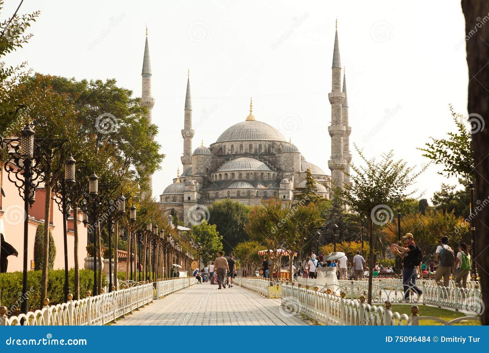 La mosquée à Istanbul a appelé Hagia Sophia