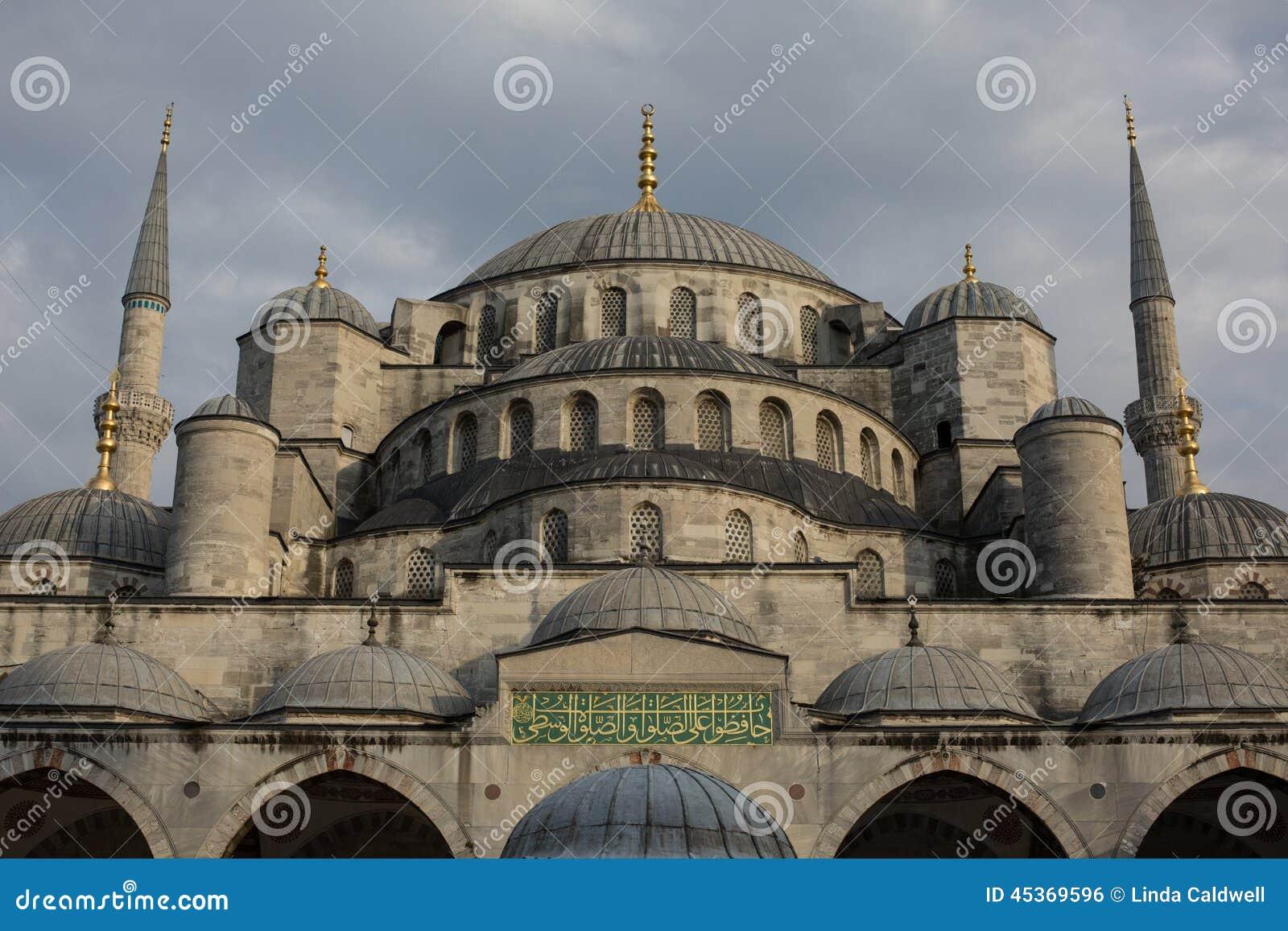 La mosquée bleue d Istanbul