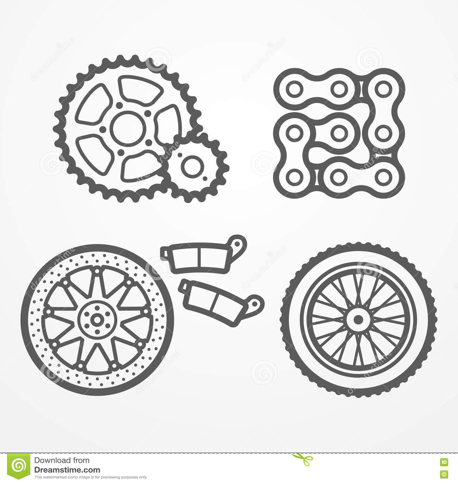 La moto partie des icônes