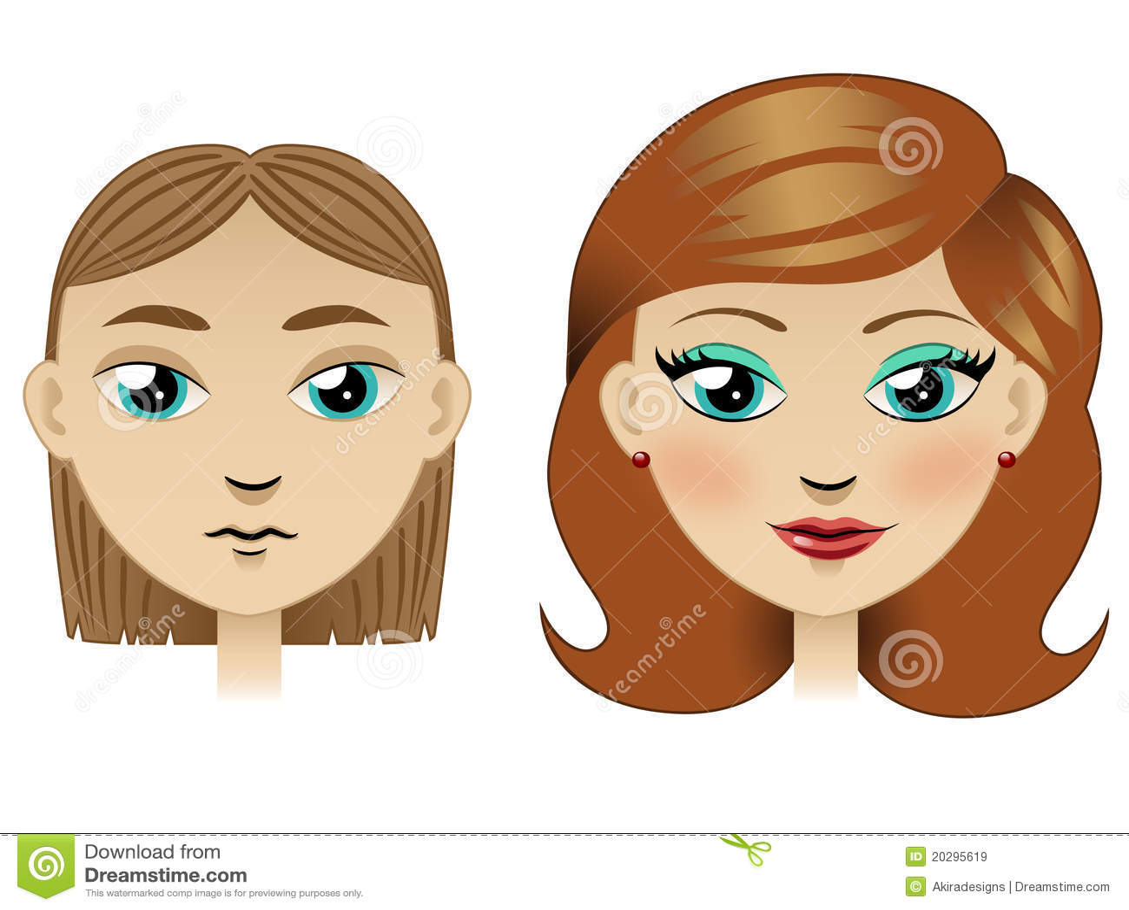 Chica joven con pelo negro y ojos oscuro 2