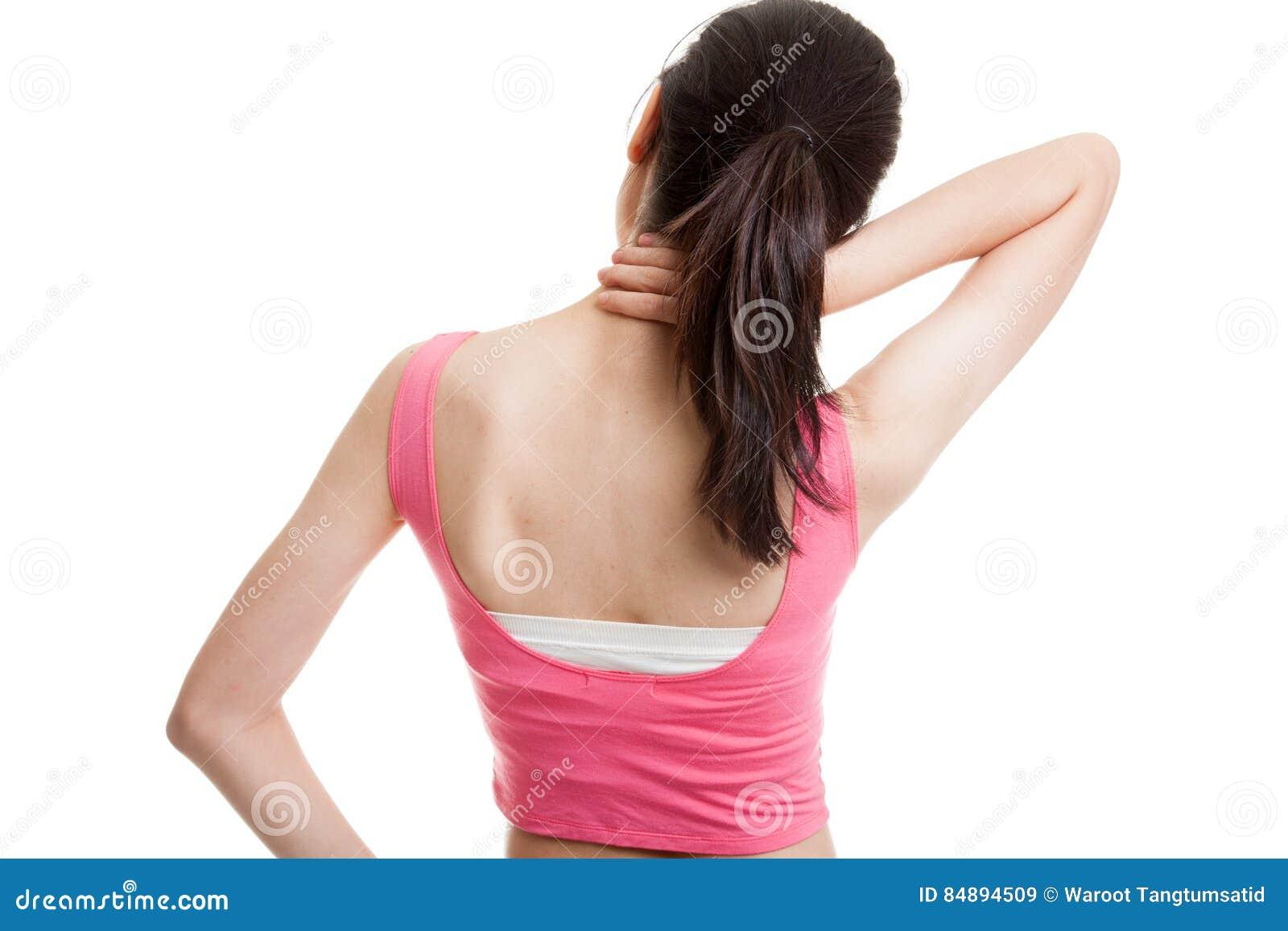 Fiebre y dolor de cuello