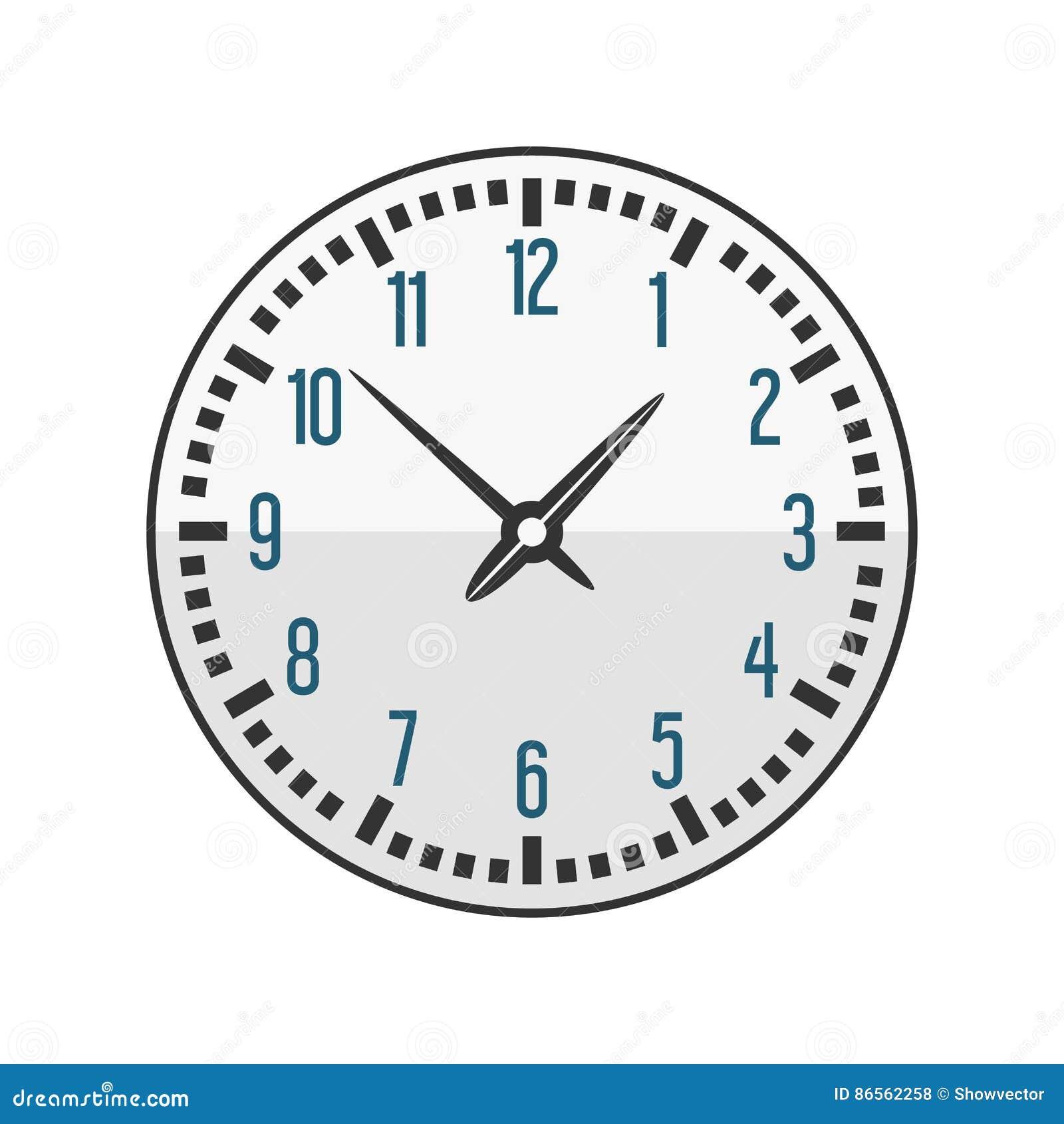 La Pared Contador Muestra Círculo Reloj Con De Del Minuto EWH9D2I