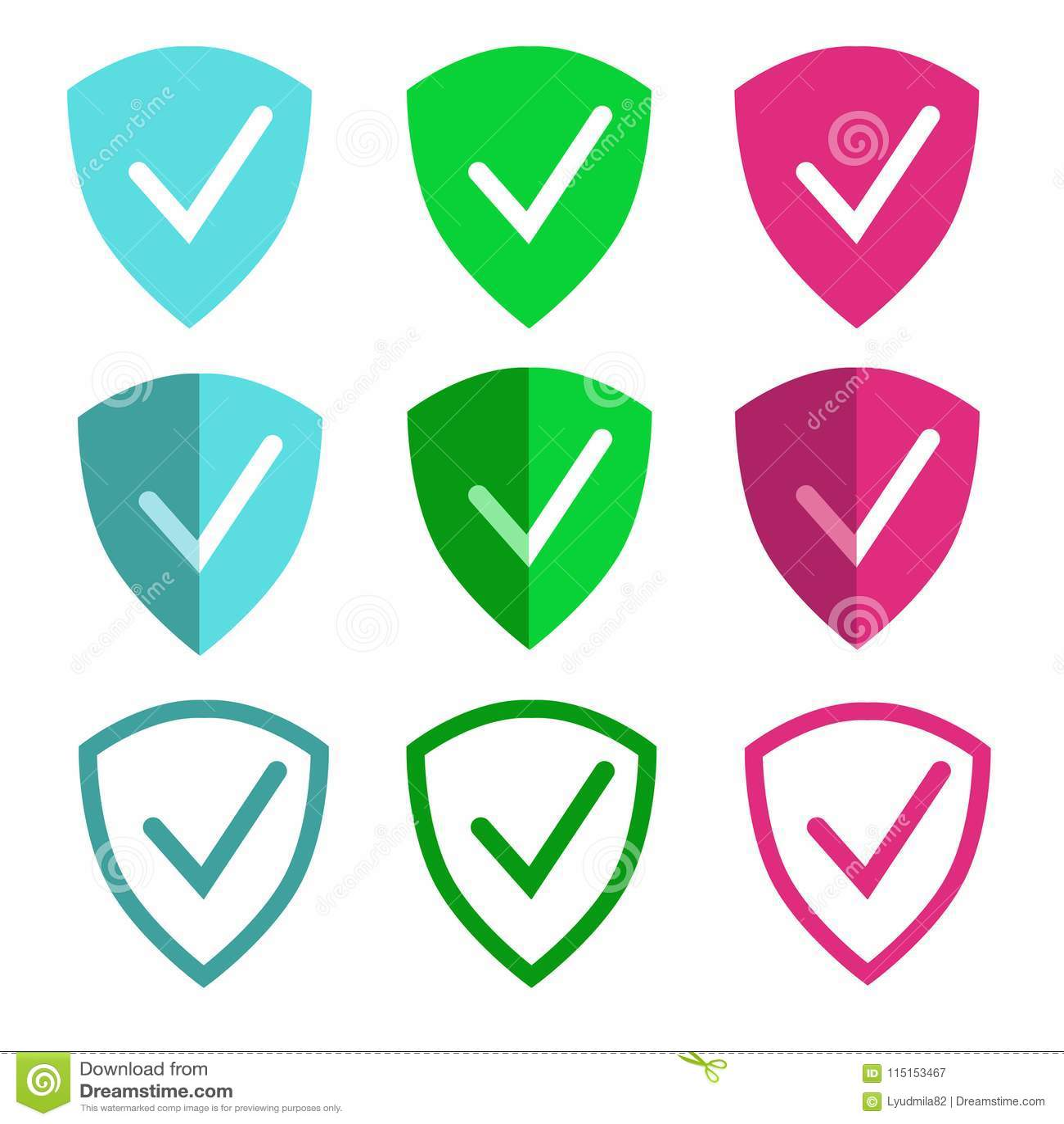 La muestra del escudo simboliza la protección para los apps y el web móviles