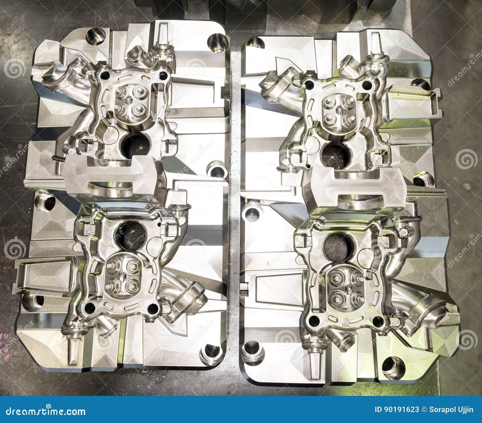 La muffa di alta precisione e muore fabbricazione per automobilistico e aereo