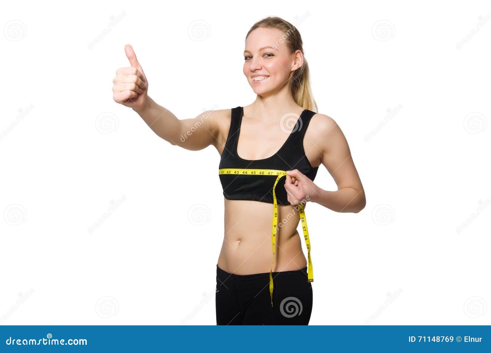 La mujer en concepto de los deportes