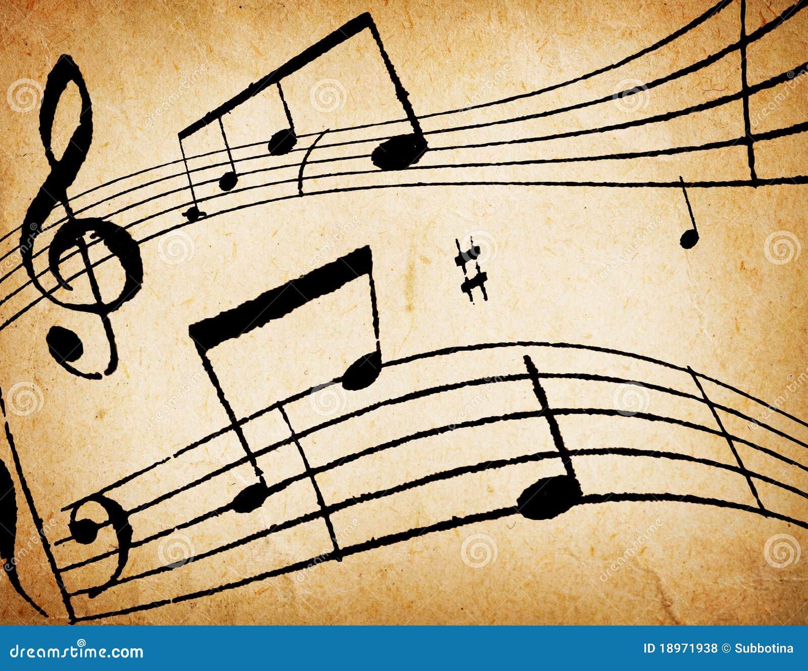 La musica nota la priorità bassa