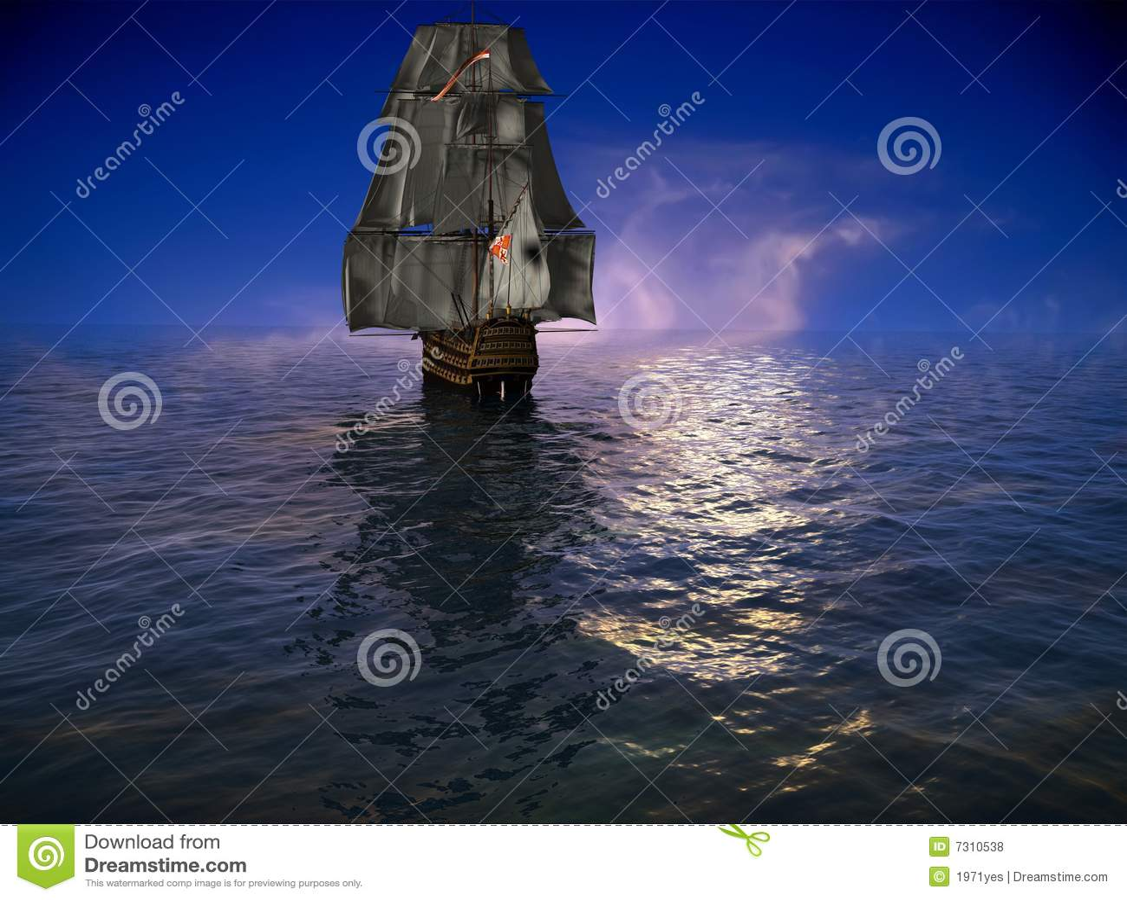 La nave antica