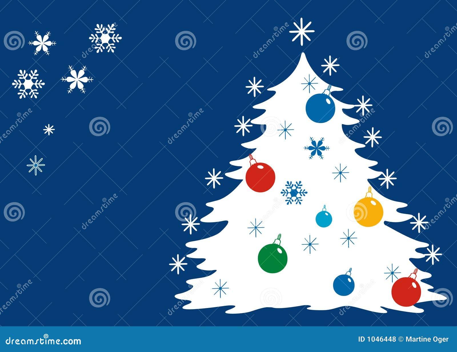 La Navidad azul.